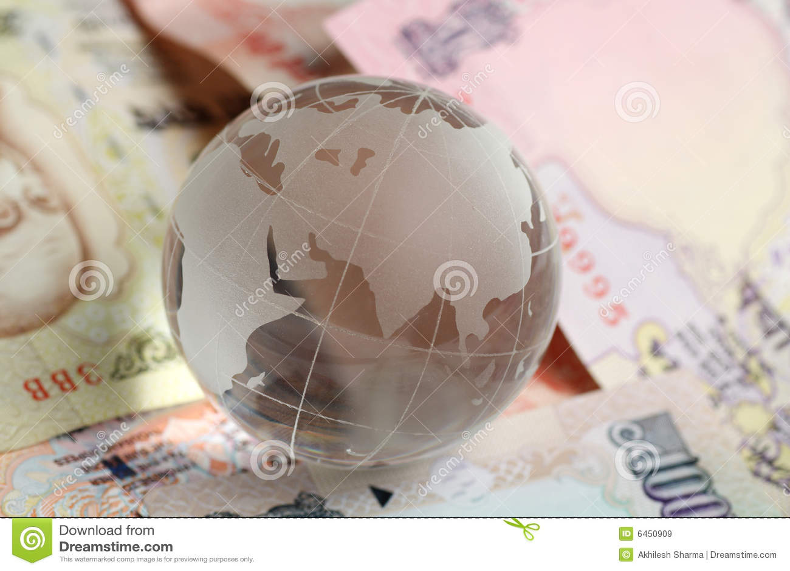 Hindusi globe waluty