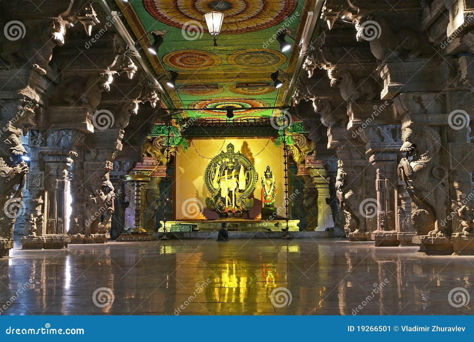 Hinduska Madurai meenakshi nadu tamila świątynia
