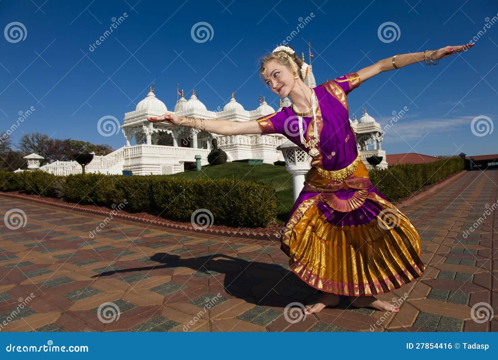 Hinduski Świątynny Tancerz