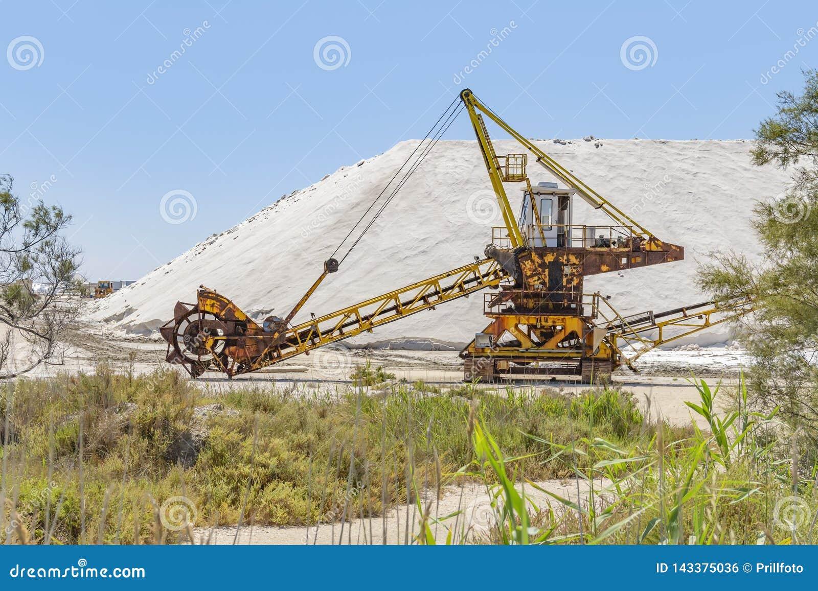Hink-hjul grävskopa