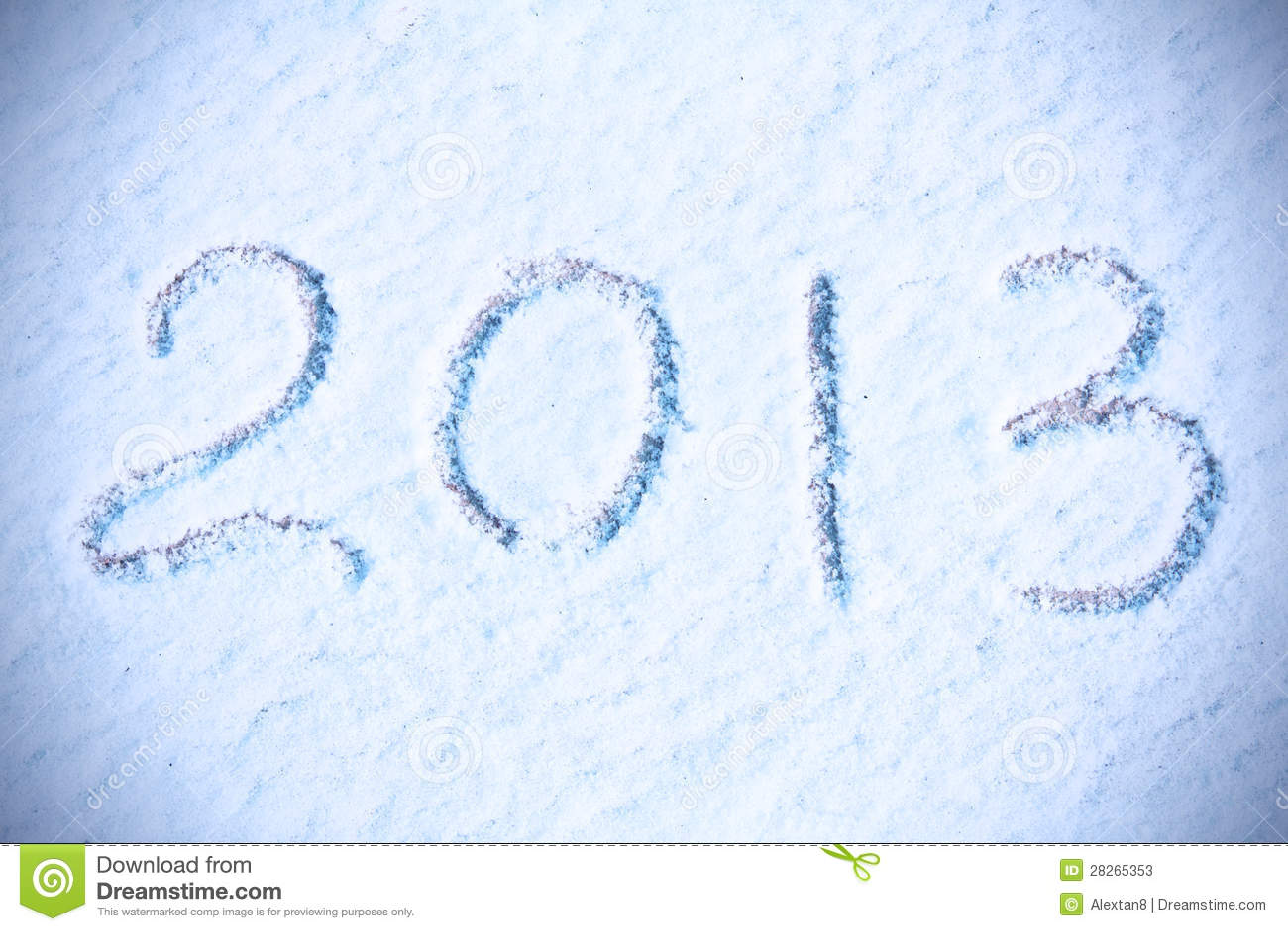 Hintergrund 2013 des neuen Jahres