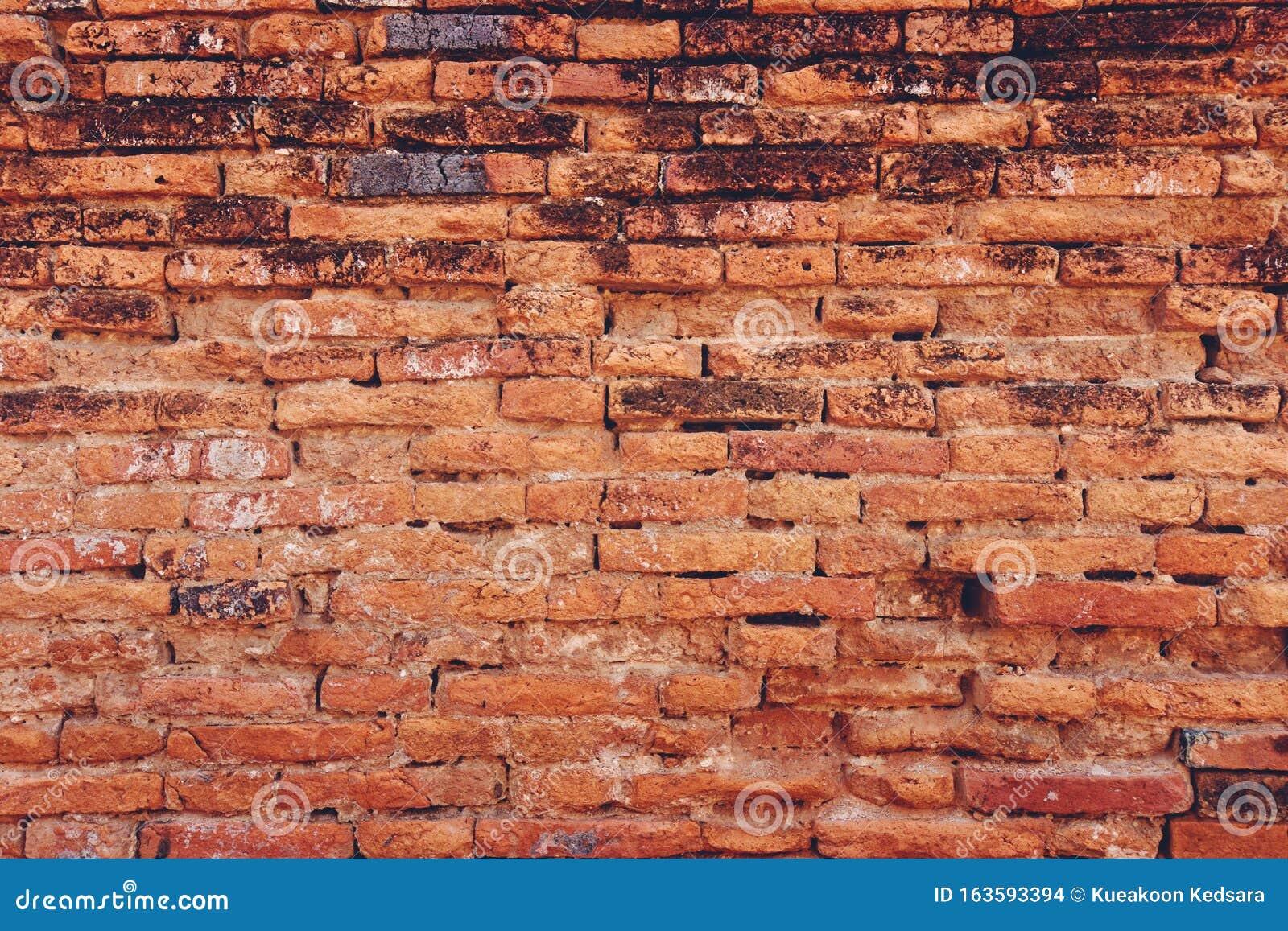 Hintergrund Der Alten Roten Ziegelsteinwand Stockfoto   Bild von alten, roten 163593394