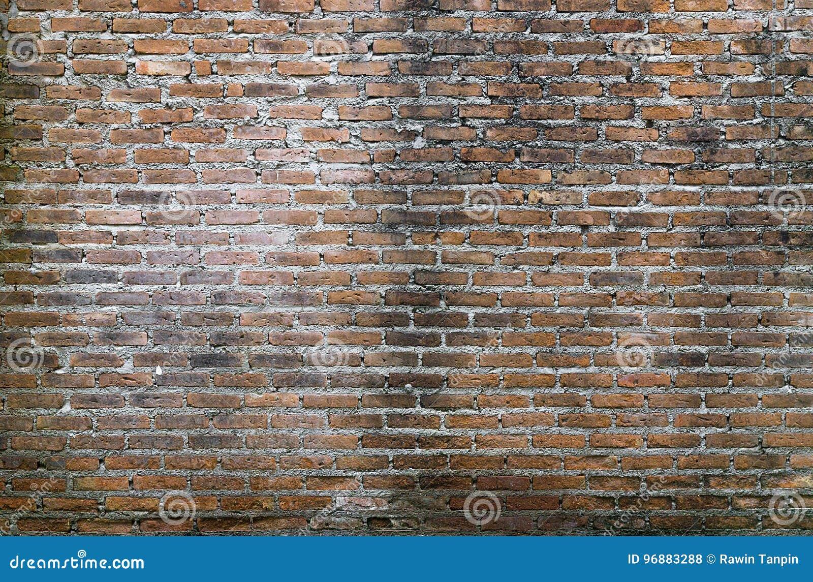 Hintergrund Der Alten Weinlesebacksteinmauer, Alter Backsteinmauerhintergrund Stockfoto   Bild ...