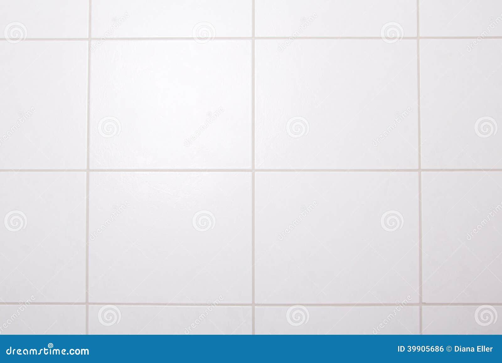 hintergrund der weißen fliesenwand im bad stock abbildung