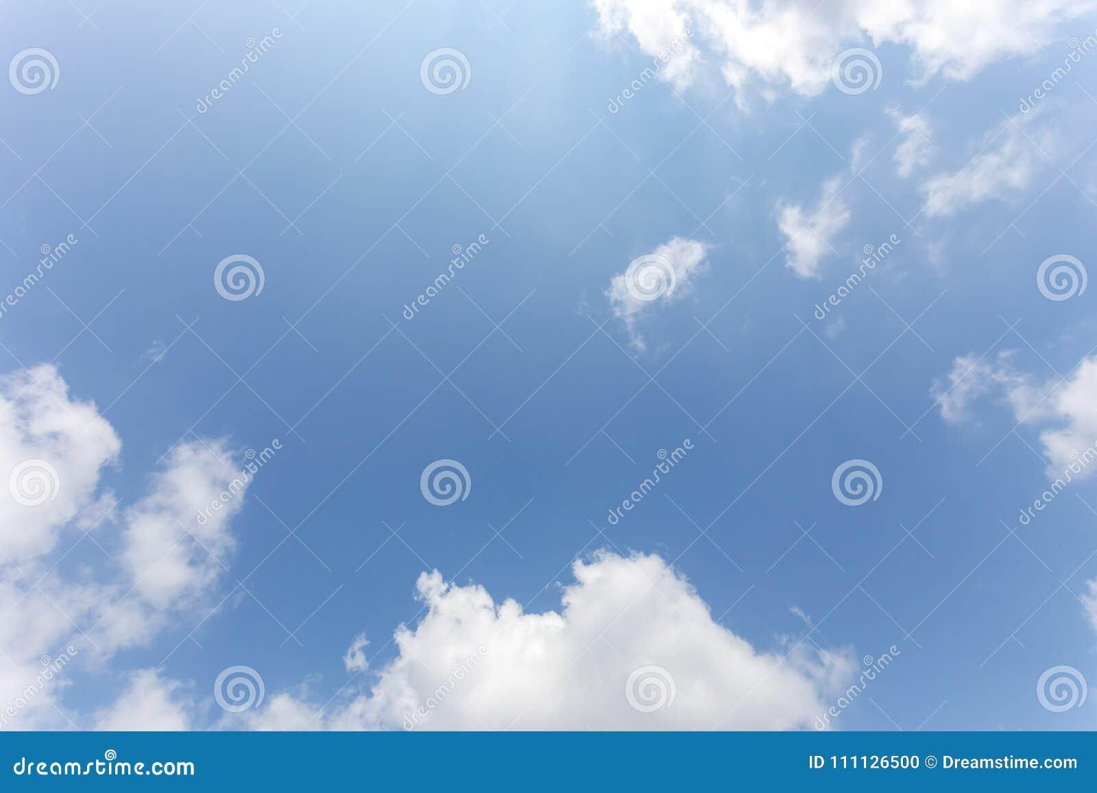 Hintergrund des blauen Himmels mit Wolken, Hintergrundhimmel
