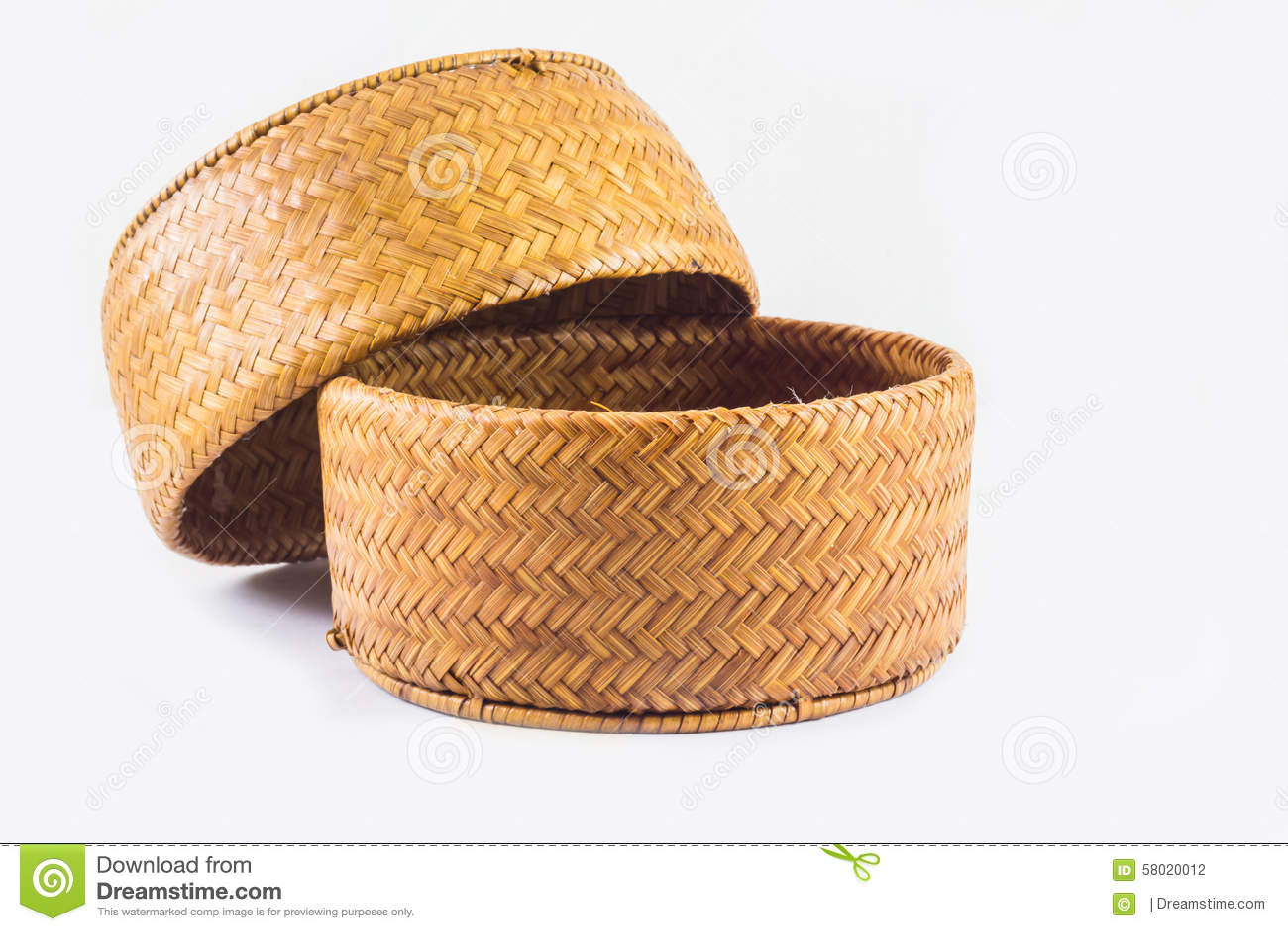 Hintergrund des Gegenstandes, Reis Kratib es Handwerk von Thailand