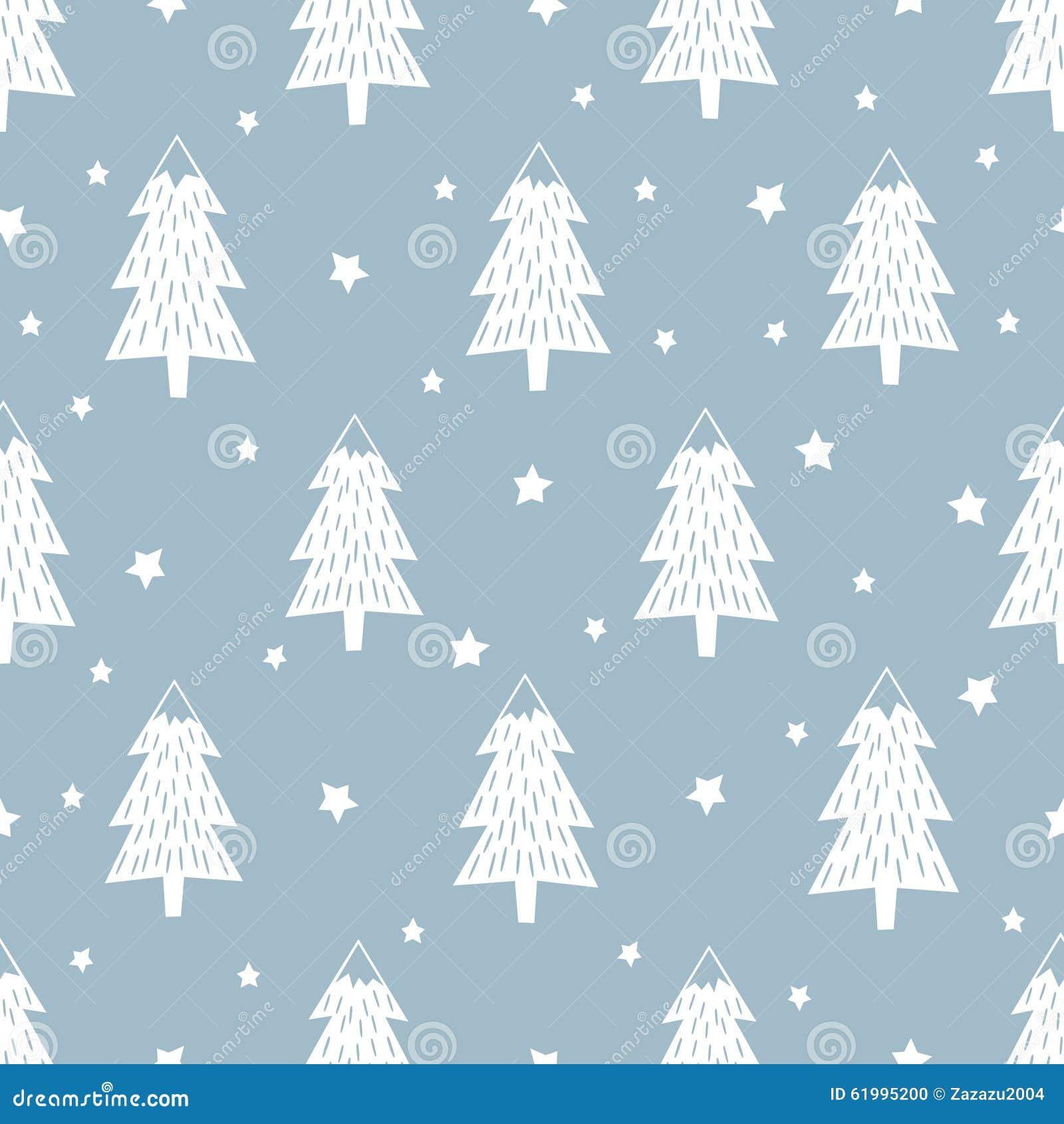 Hintergrund des glücklichen neuen Jahres Einfaches nahtloses Retro- Weihnachtsmuster