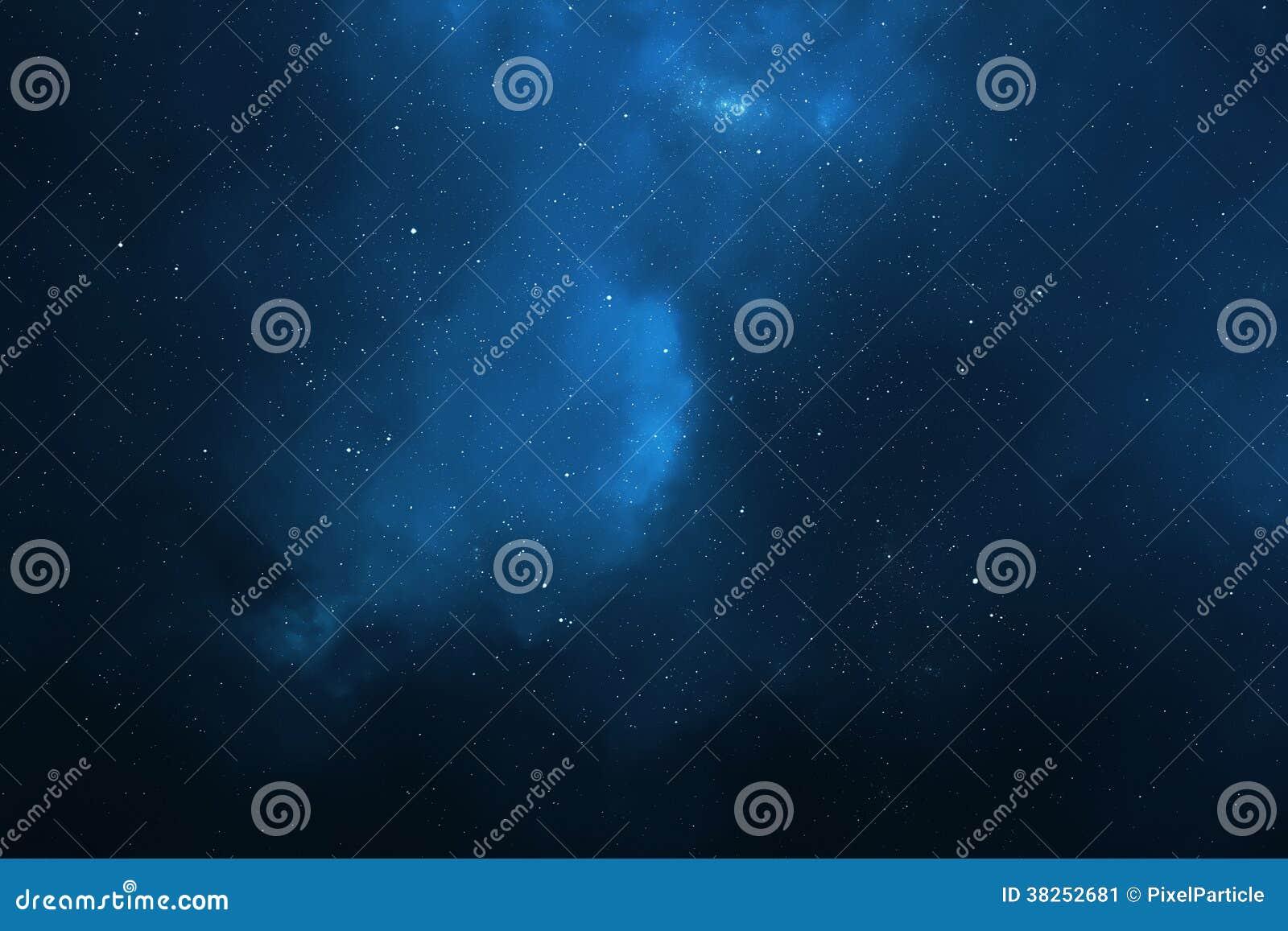 Hintergrund des nächtlichen Himmels