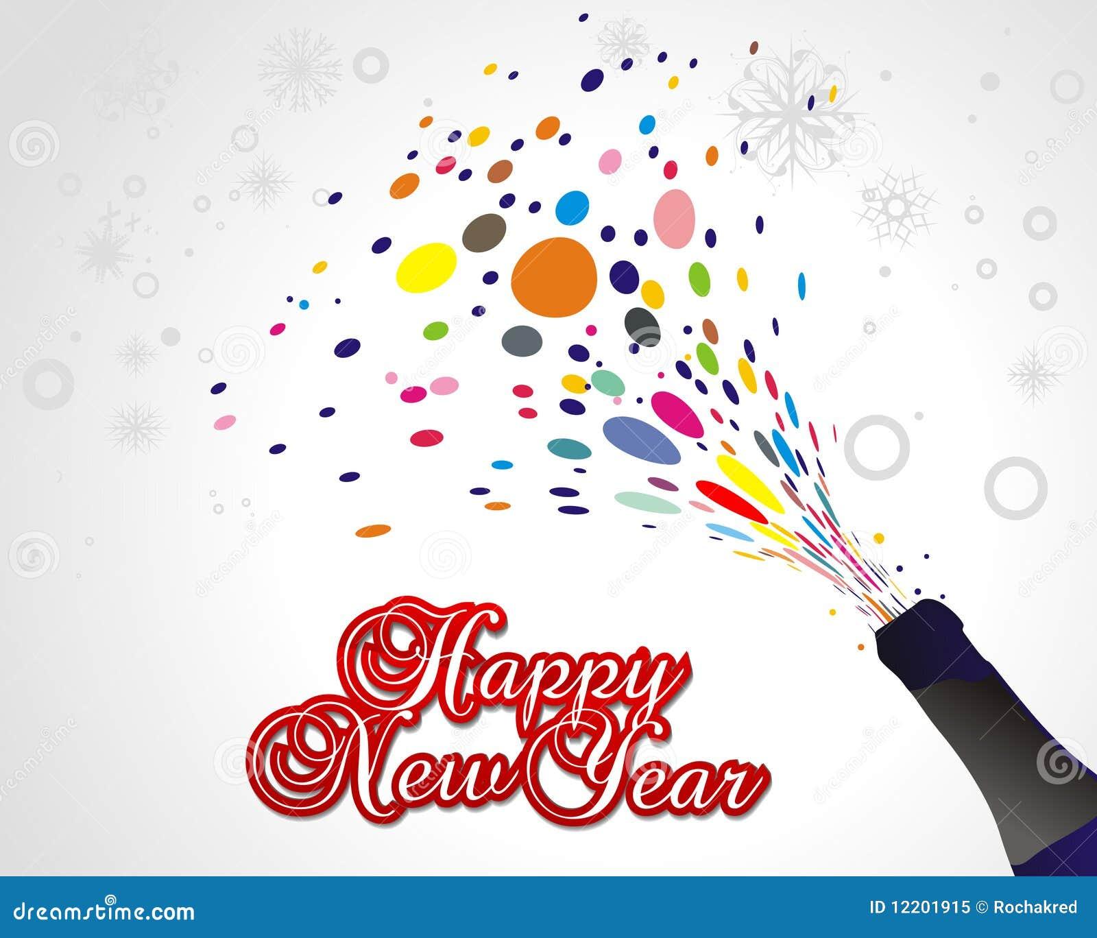 Hintergrund des neuen Jahres
