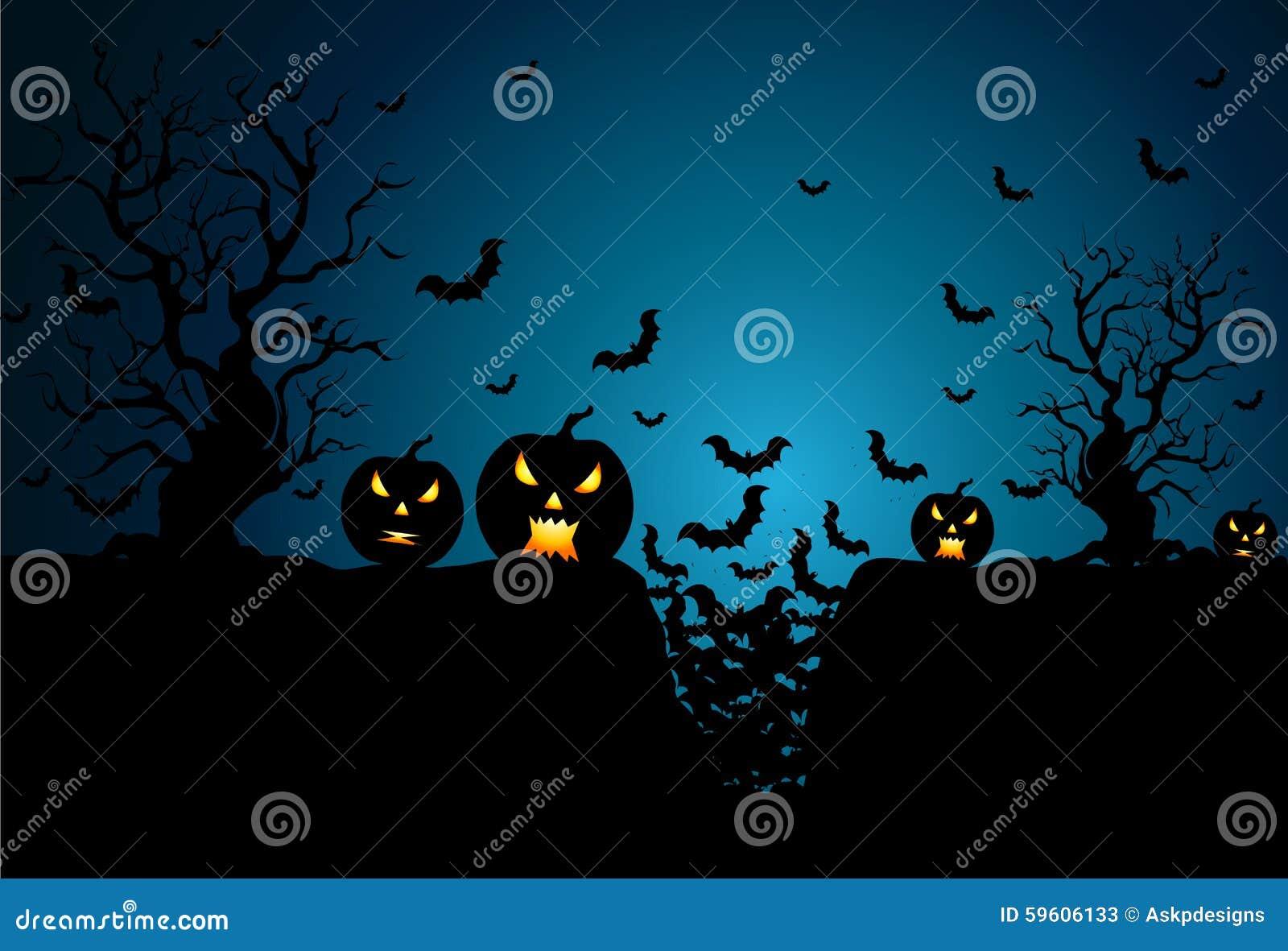 Hintergrund für Halloween-Feiern