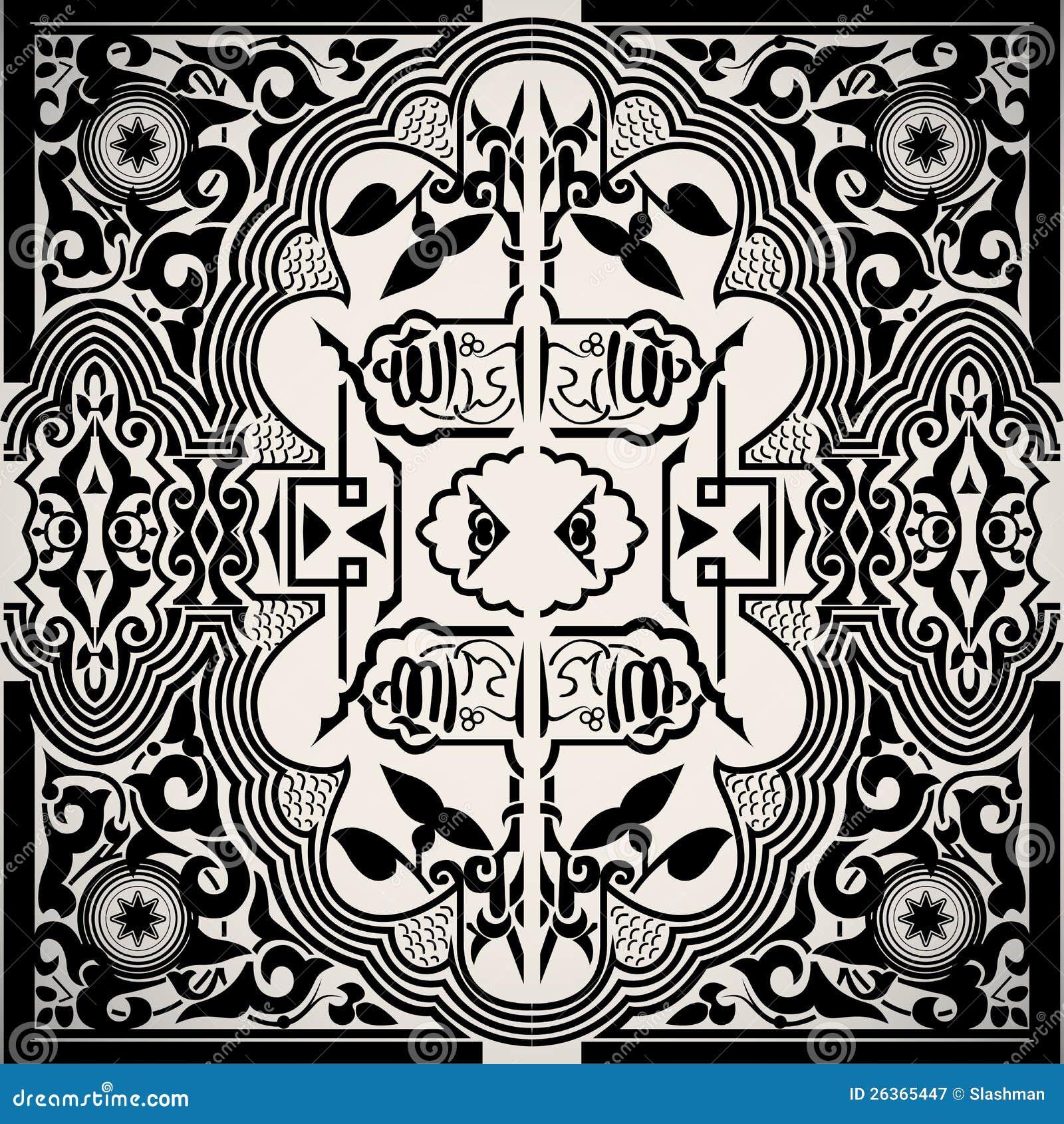 Hintergrund-Feldkarte der vektorweinlese barocke