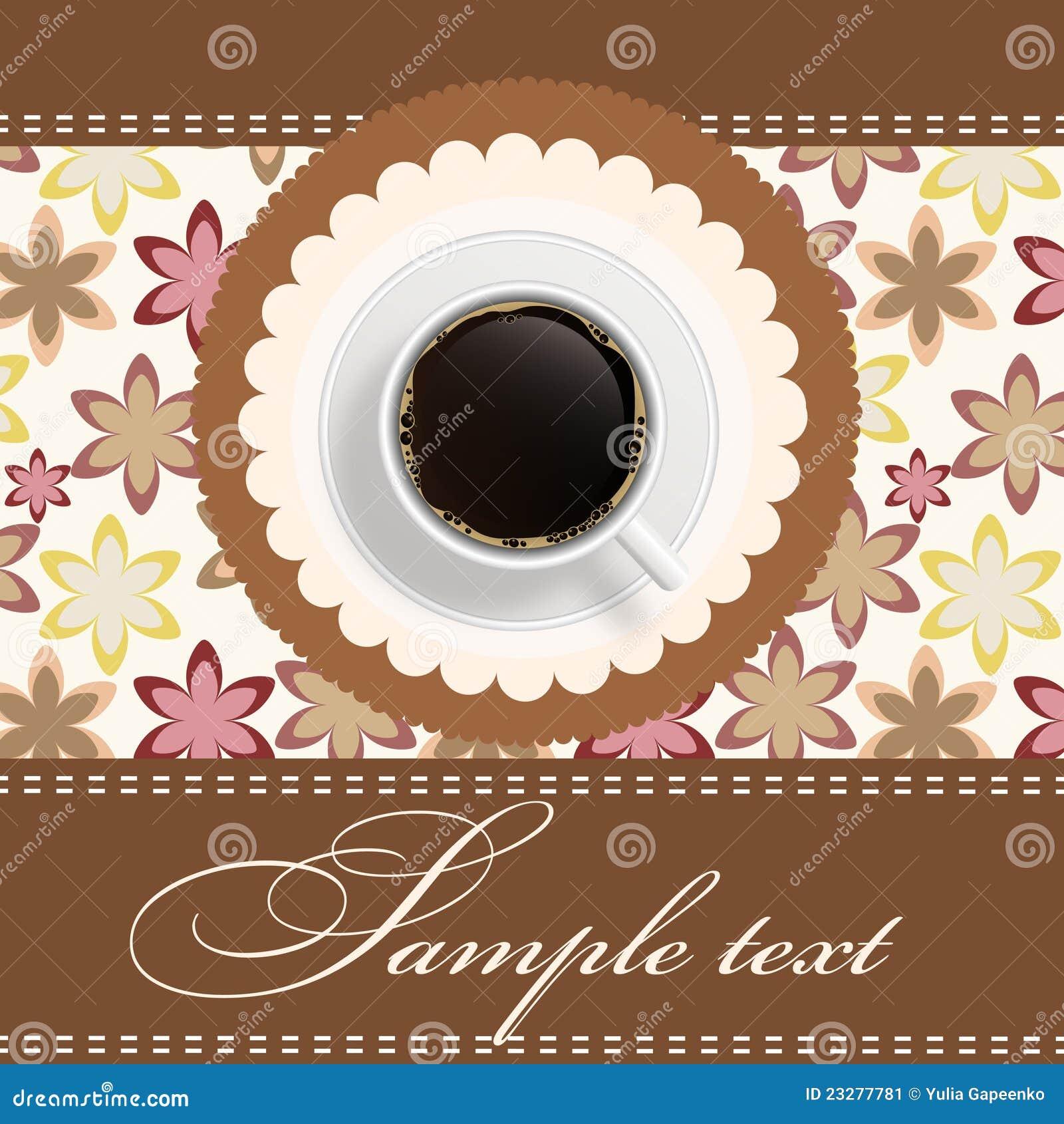 einladung zum kaffeetrinken | brillebrille, Einladung