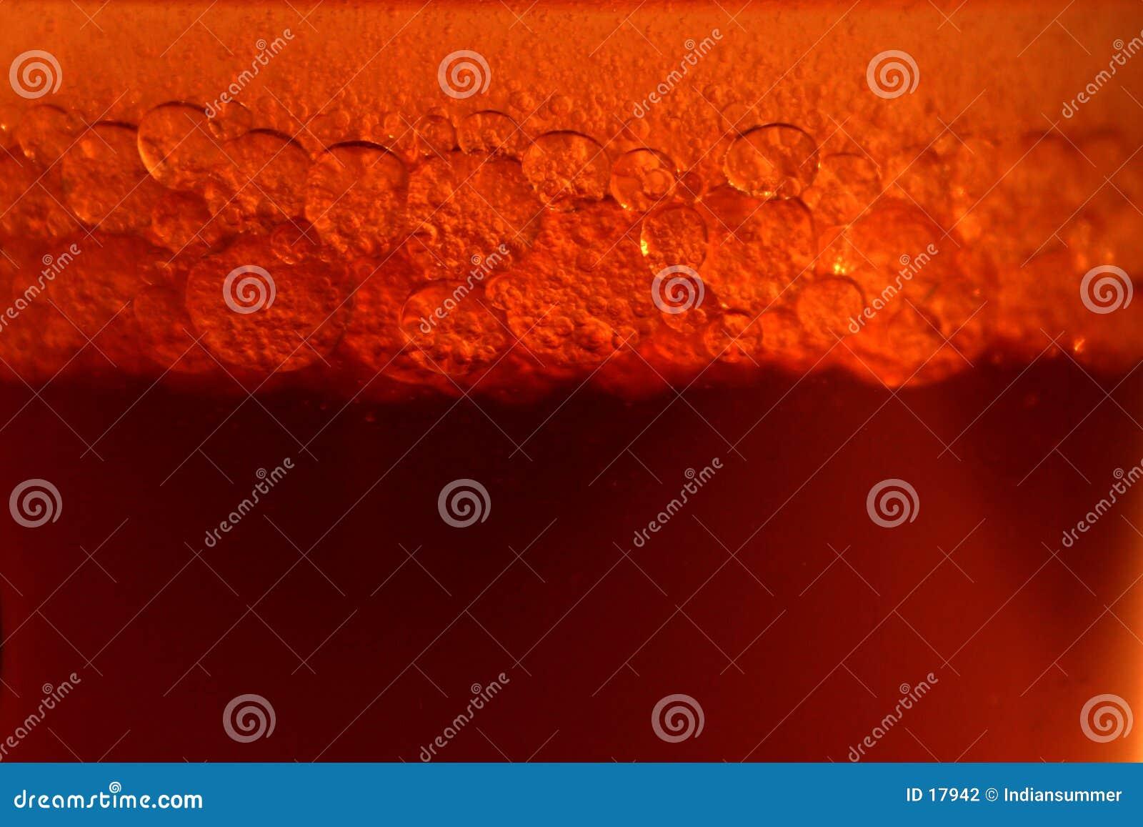 Hintergrund mit Luftblasen
