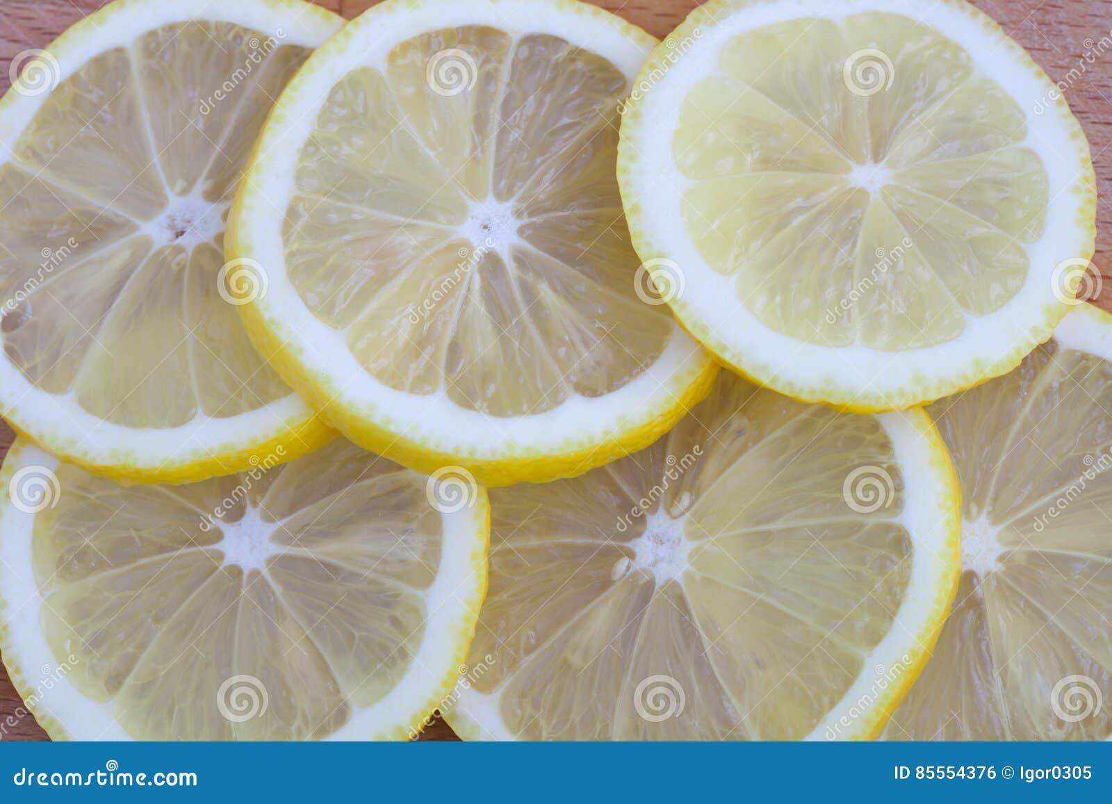 Hintergrund von der Zitrone