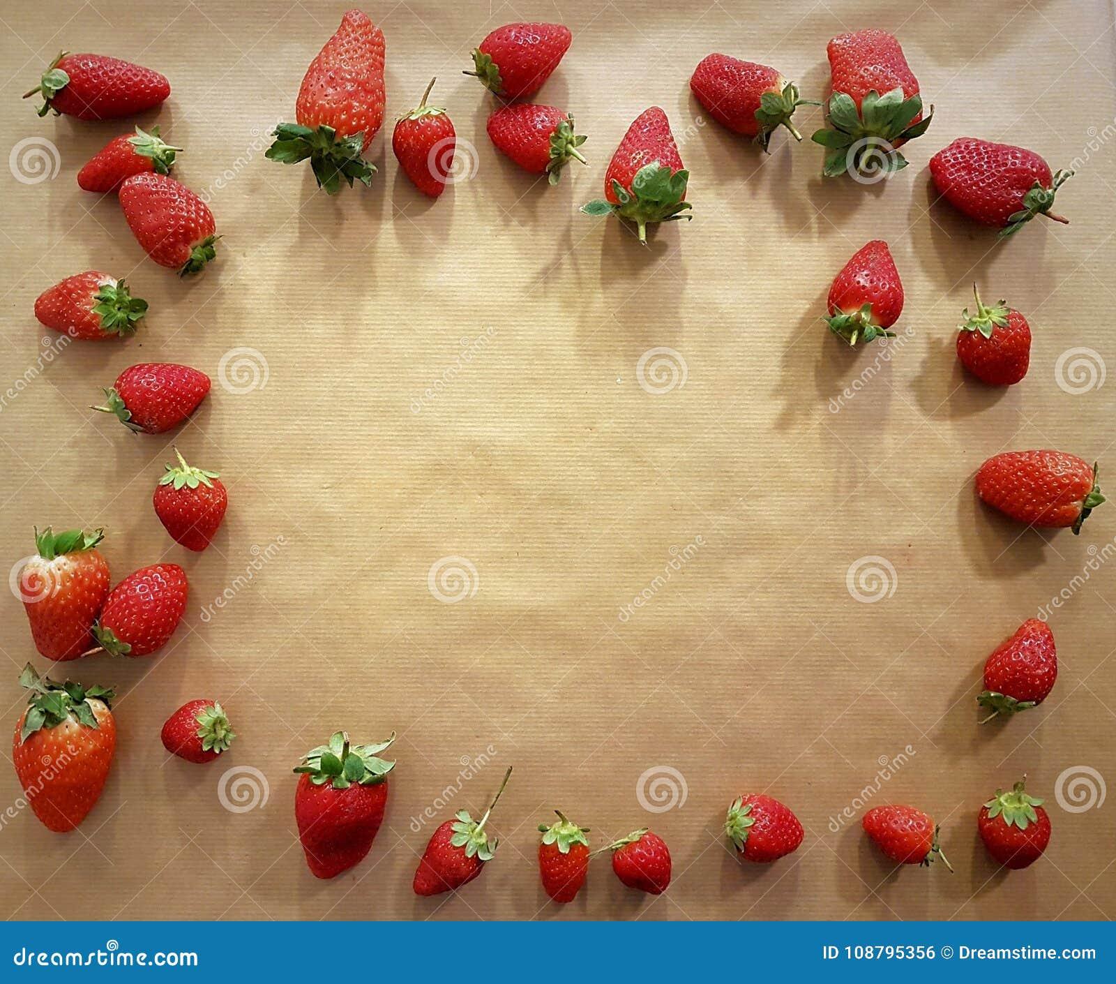 Hintergrund von Erdbeeren für Grüße und Segen: Jahrestage, Valentinsgruß ` s Tag, Geburtstage, Restaurant, Liebe, Freundschaft