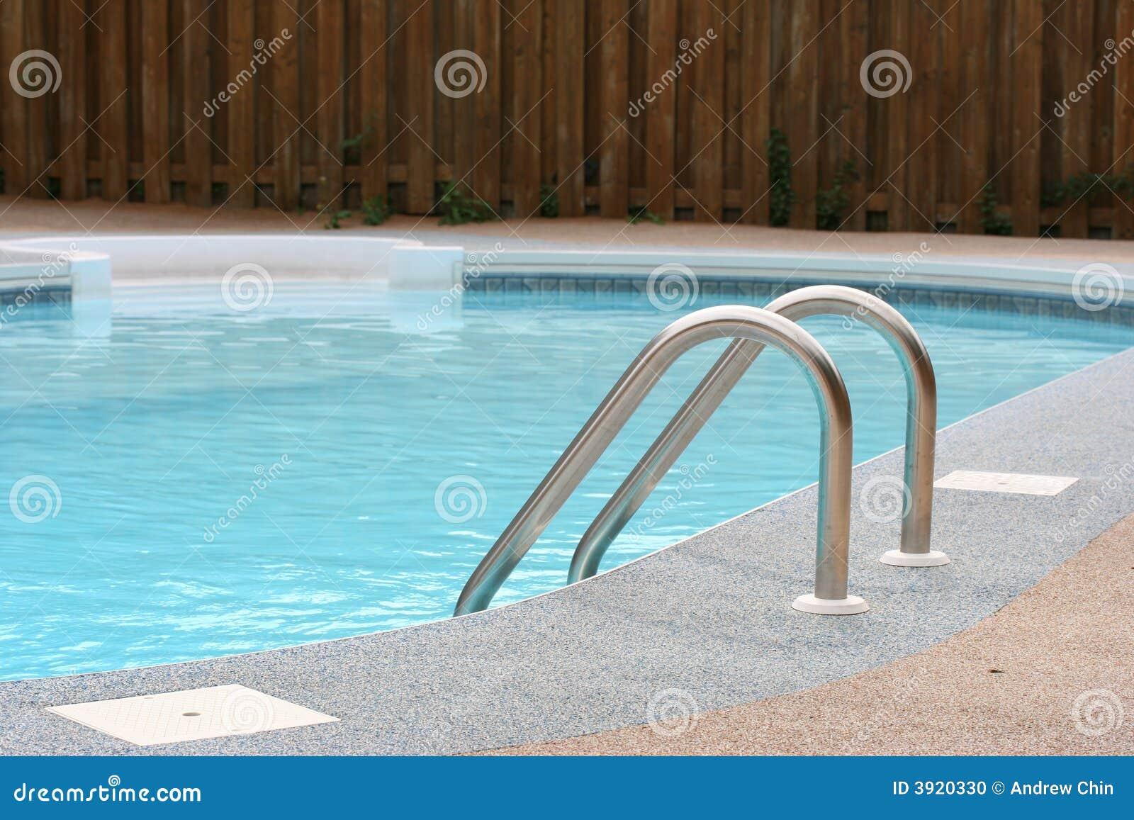 Hinterhof Pool Stockfoto Bild Von Sport Sicherheit