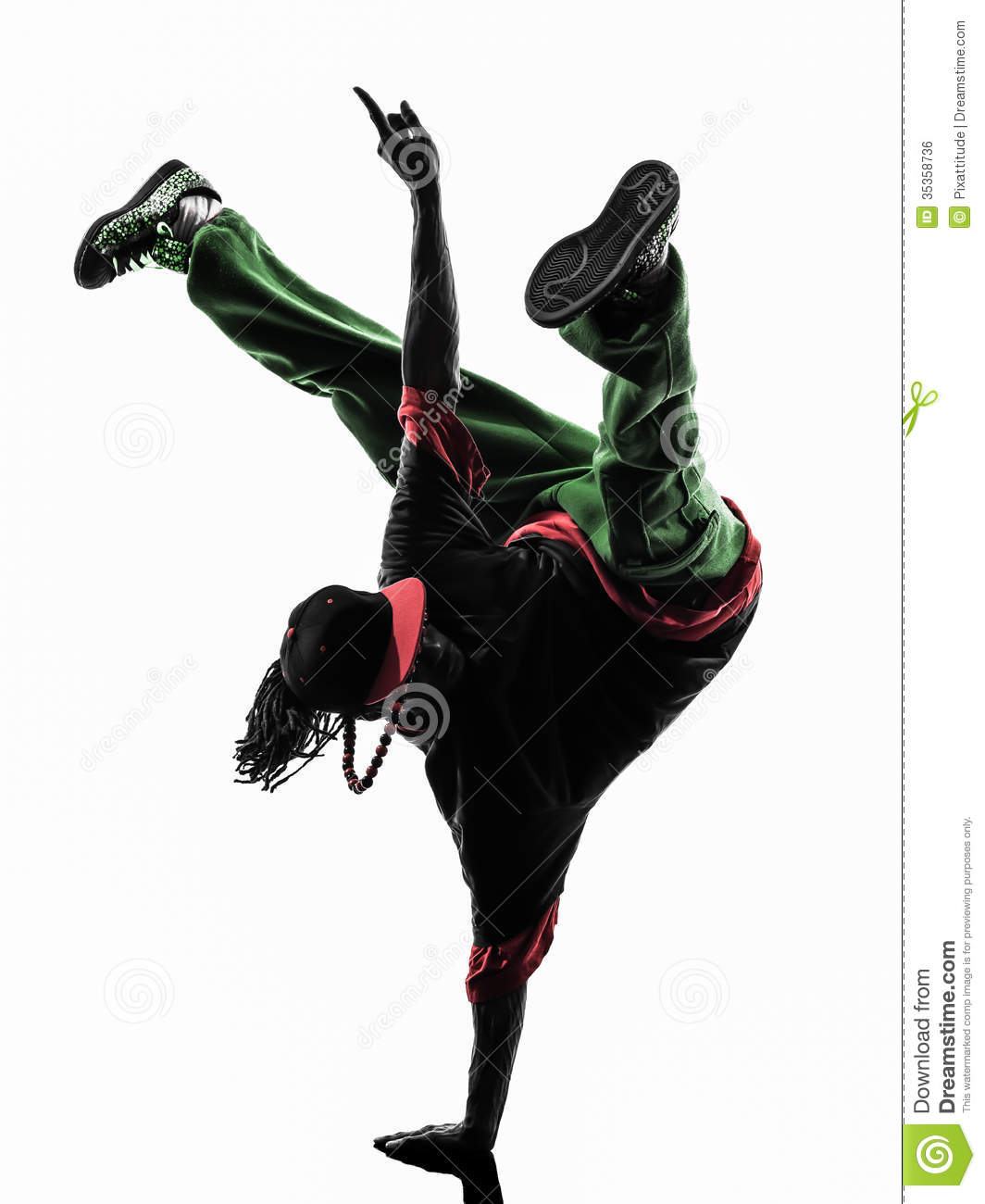 Breakdancing Silhouette , Free Transparent Clipart - ClipartKey