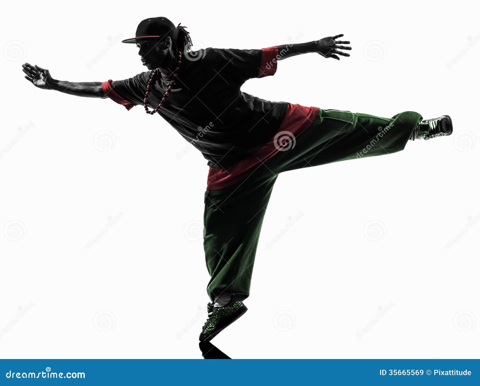 90ae3f48c Royalty-Free Stock Photo. Hip hop acrobatic break dancer breakdancing young  man silhouette