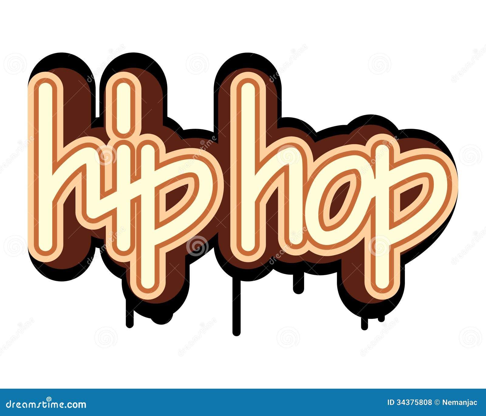 Hip Hop Graffiti Concept Royalty Free Stock Photos Image 34375808