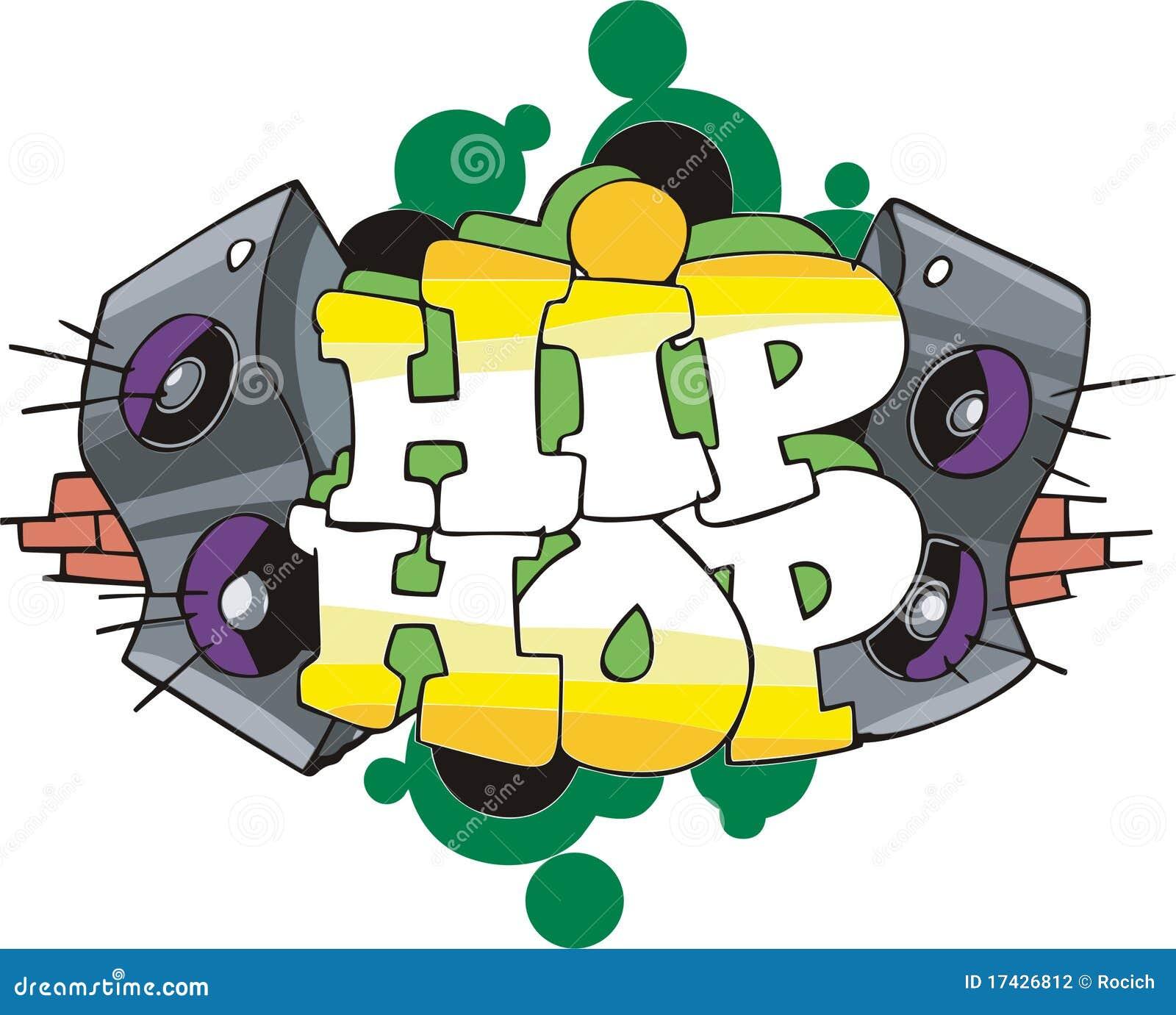 Hip hop graffiti design stock photography image 17426812 for Immagini di murales e graffiti