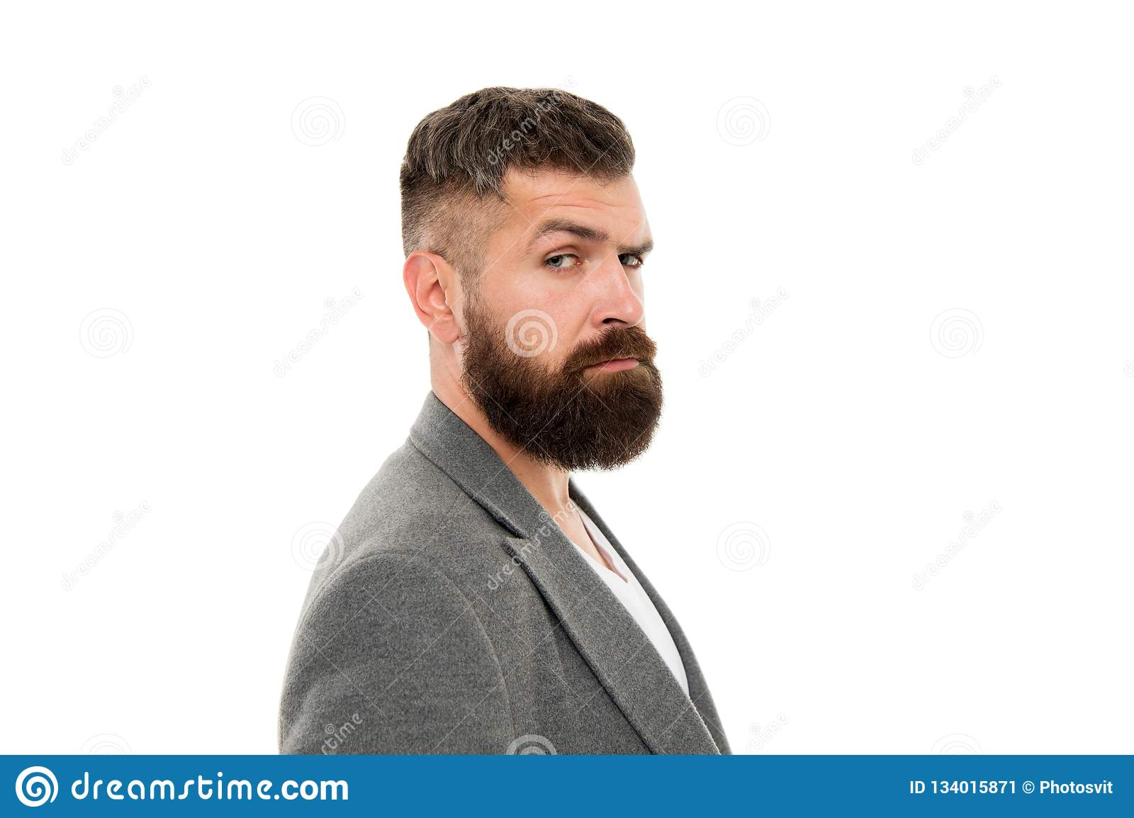 Hip and stylish. Hair and beard care. Bearded man. Male barber care. Mature hipster with beard. brutal caucasian hipster