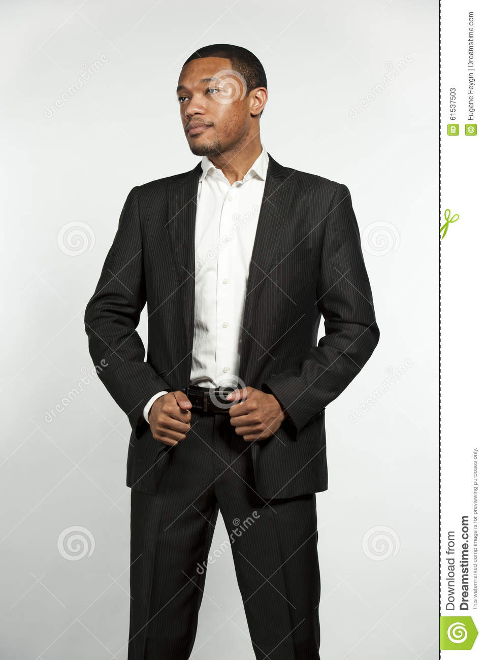Happy Hip And Trendy Formal Black Male Royalty-Free Stock ...