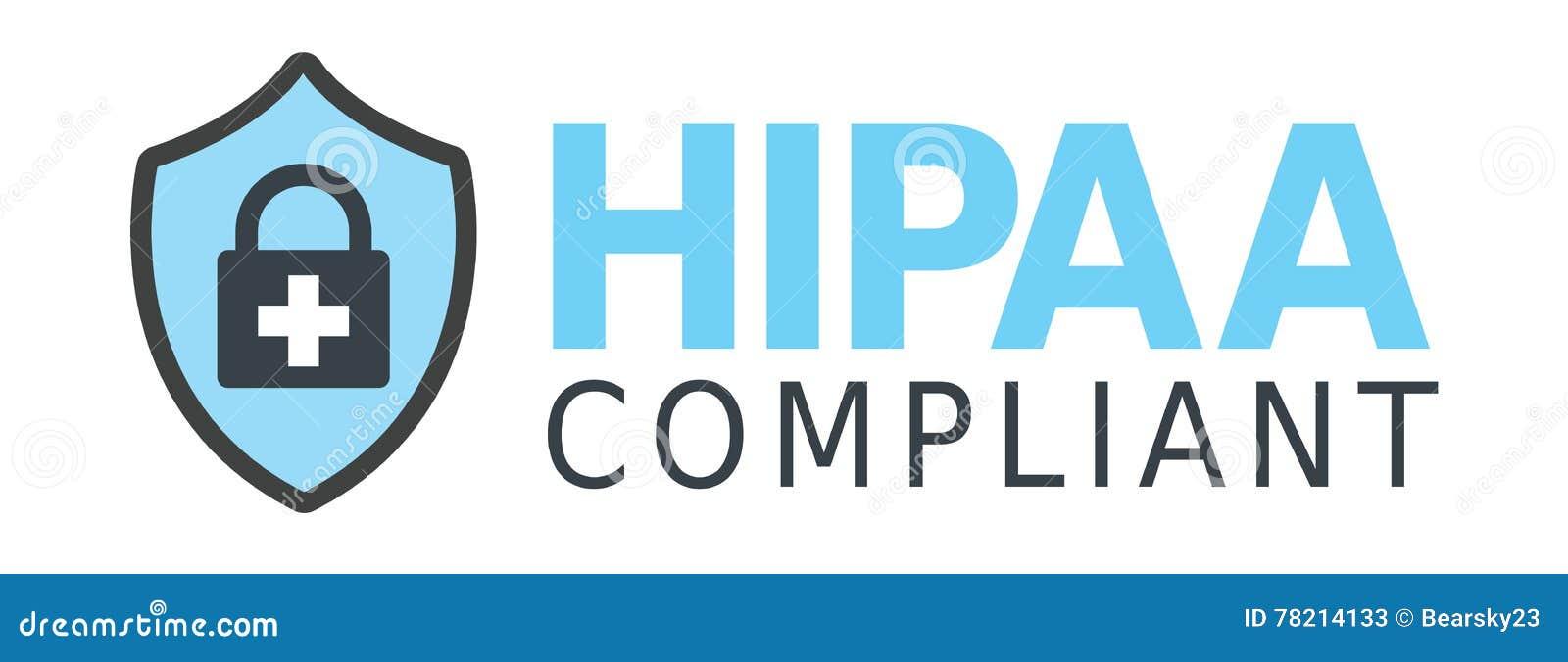 HIPAA-överensstämmelsediagram