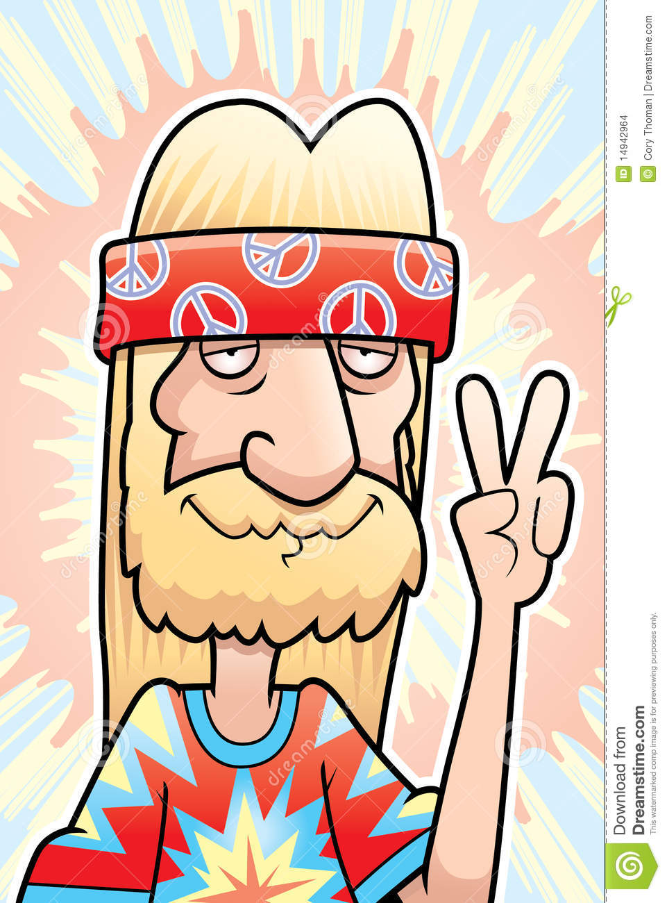 Hippie Peace Sign Stock Images - Image: 14942964