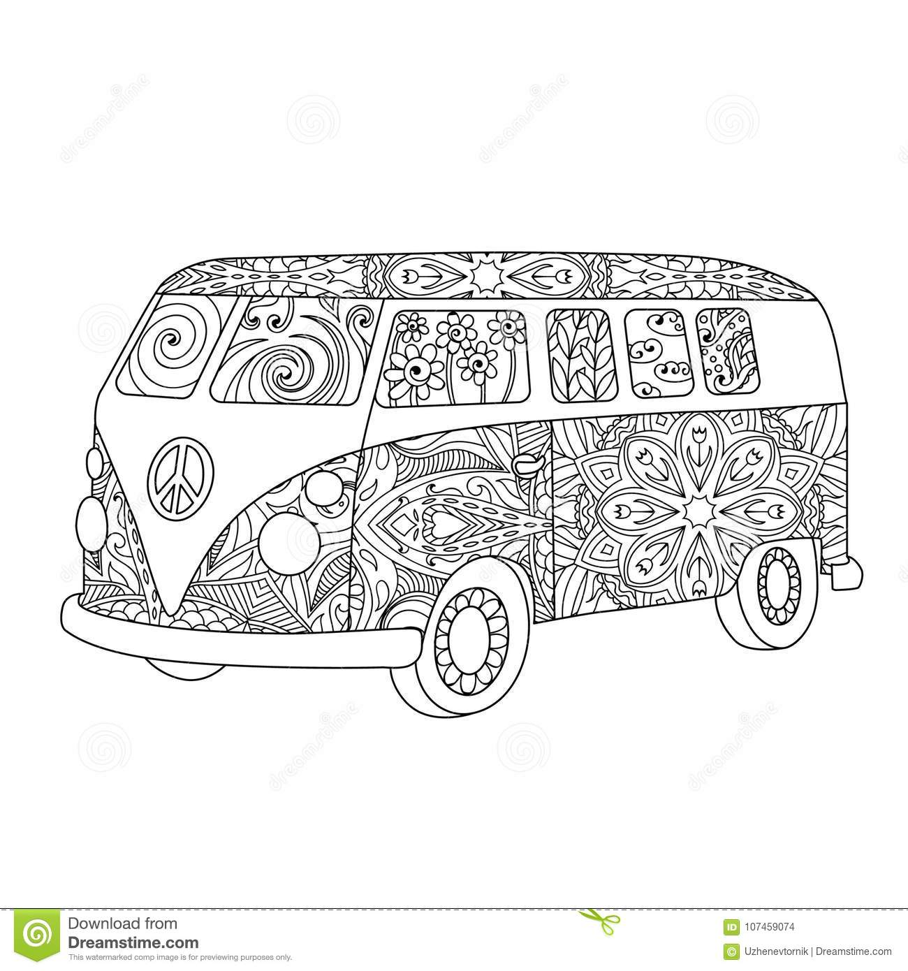 hippie cartoons  illustrations  u0026 vector stock images
