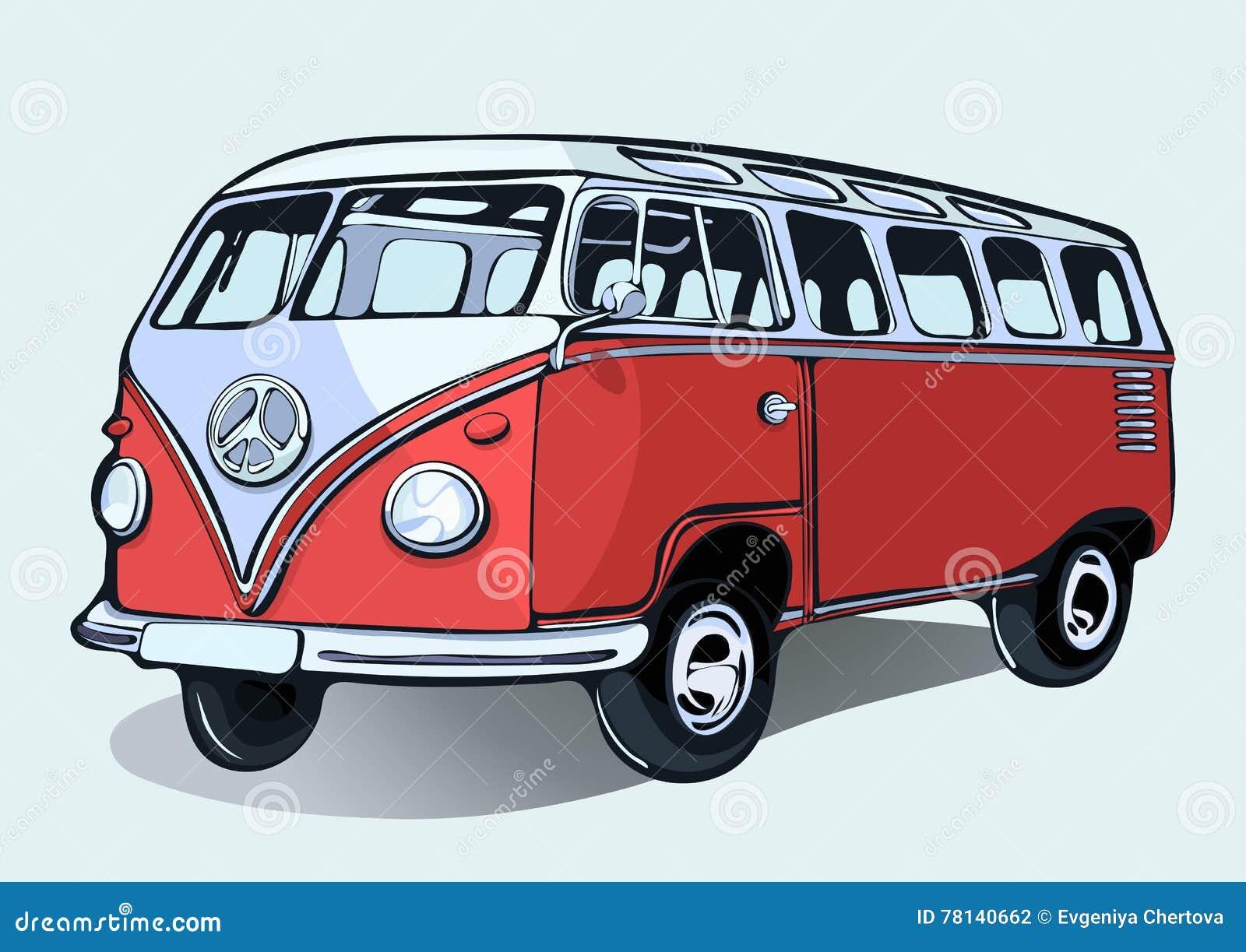 Beetle Camper Van >> Vw Bus Hippie Drawing   www.imgkid.com - The Image Kid Has It!
