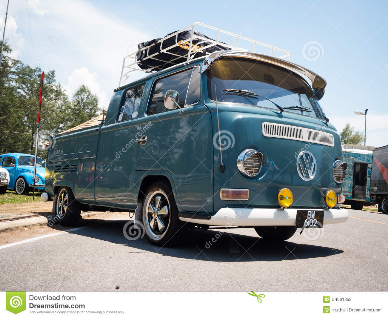 hippie volkswagen kombi editorial stock image image 54061359. Black Bedroom Furniture Sets. Home Design Ideas