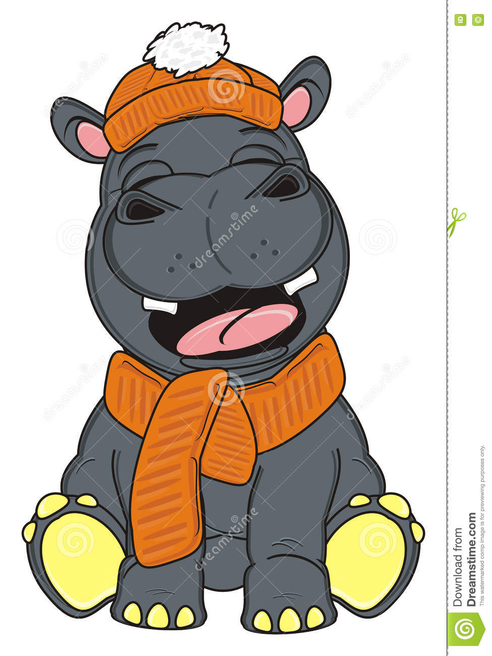 Image result for royalty free images winter hippo