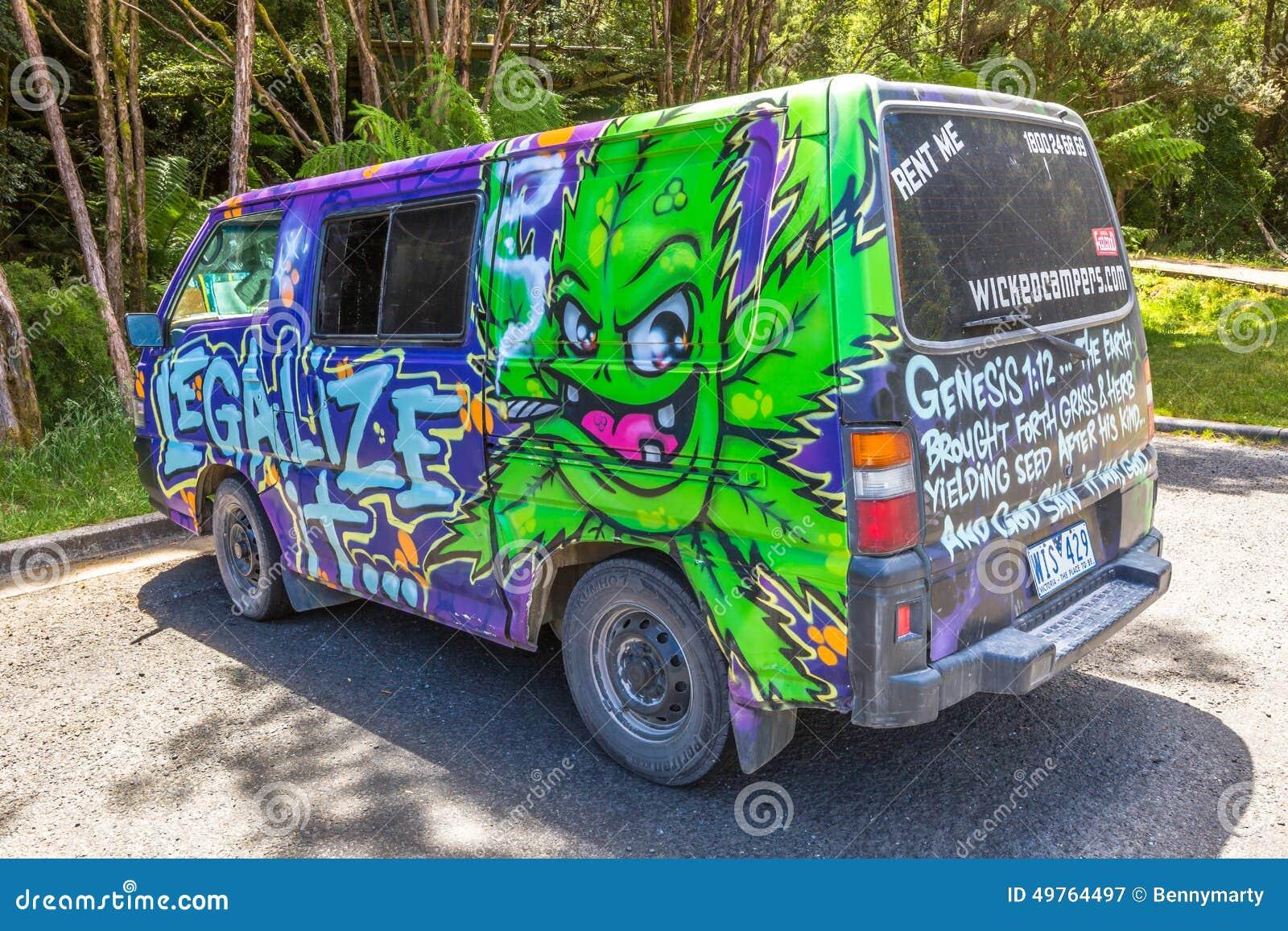 Hippy Van Legalize Marijuana