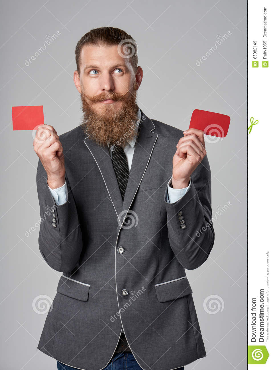 Hipster business man stock image  Image of clubcard, person