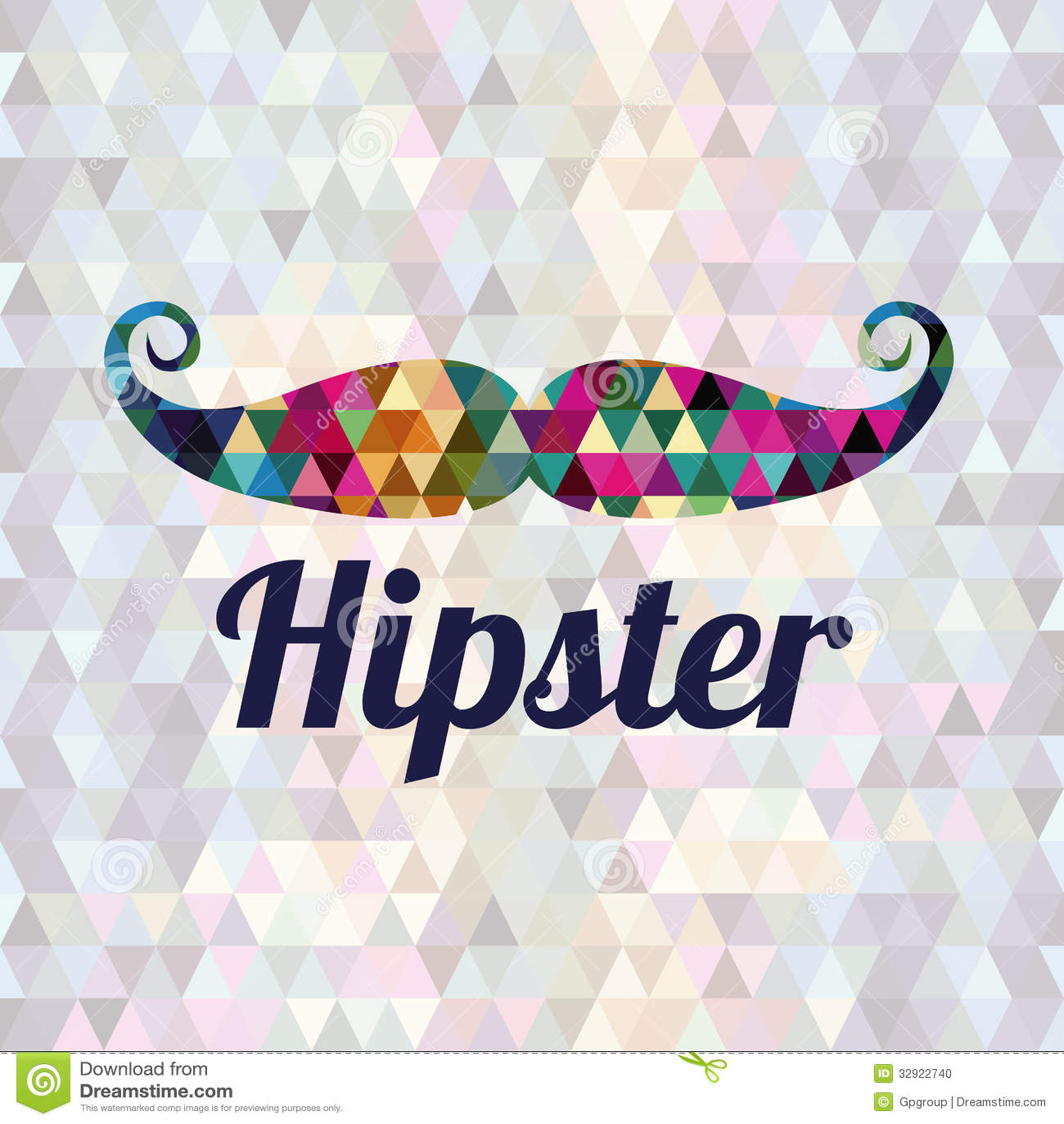 hipster design stock vector illustration of background 32922740