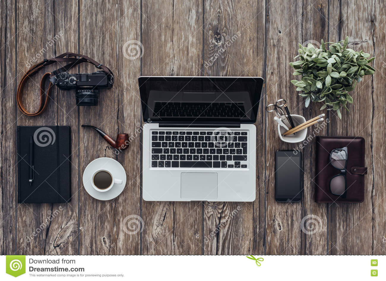 Hipster desktop