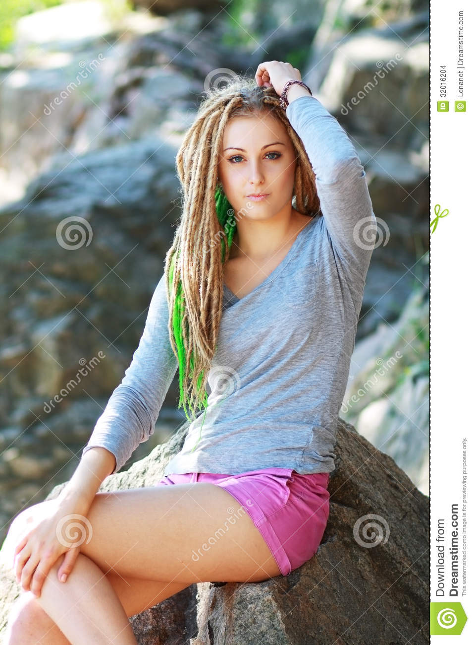 hipster girl stock images