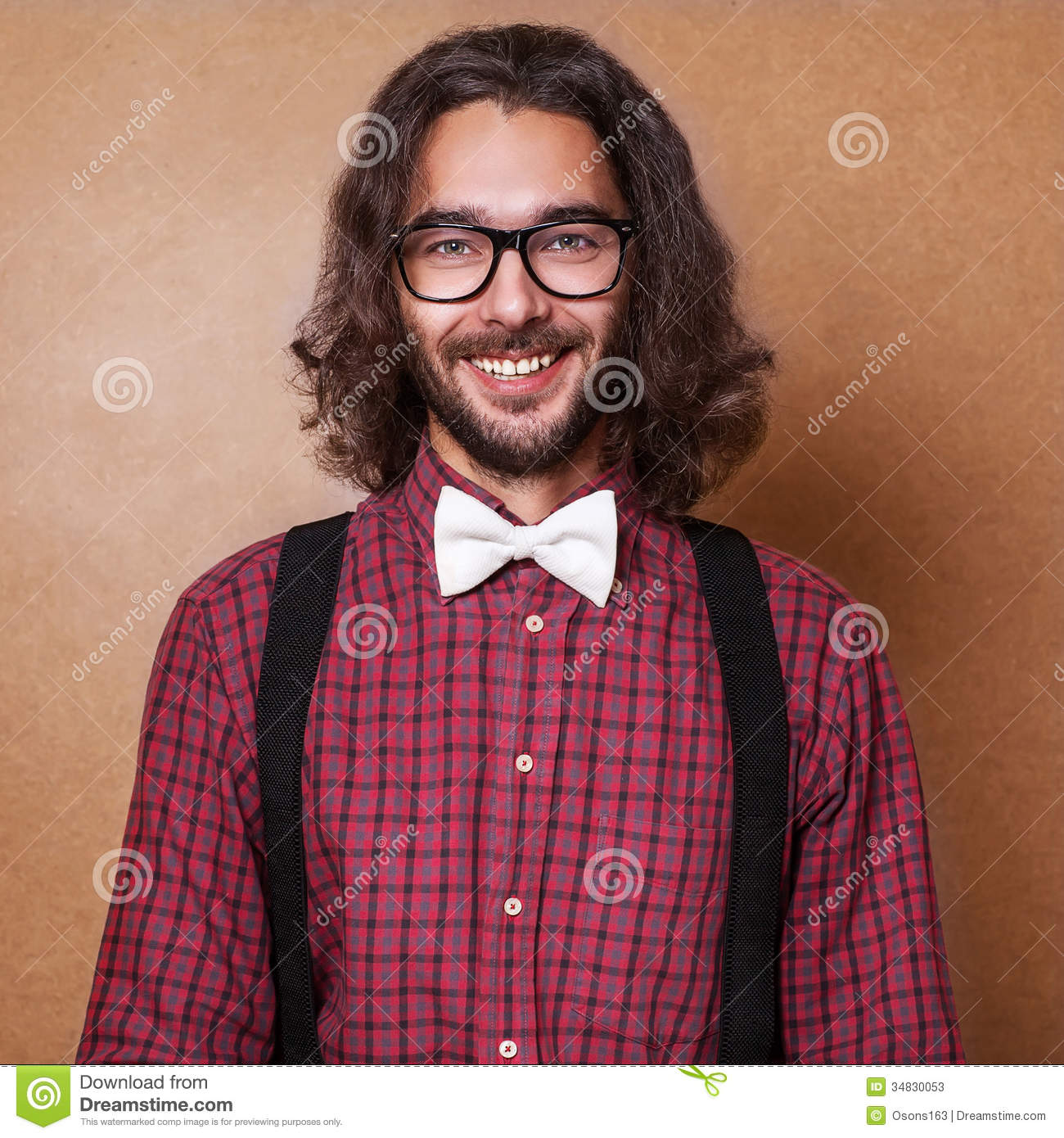 Plaid Hipster Guy