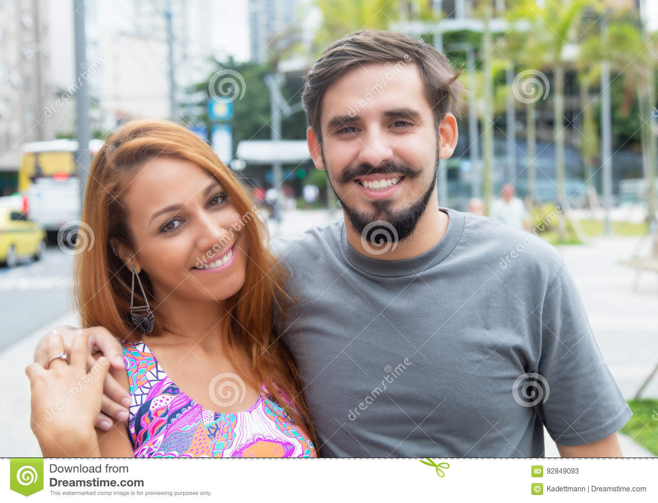 Hipster love couple outdoor in the city