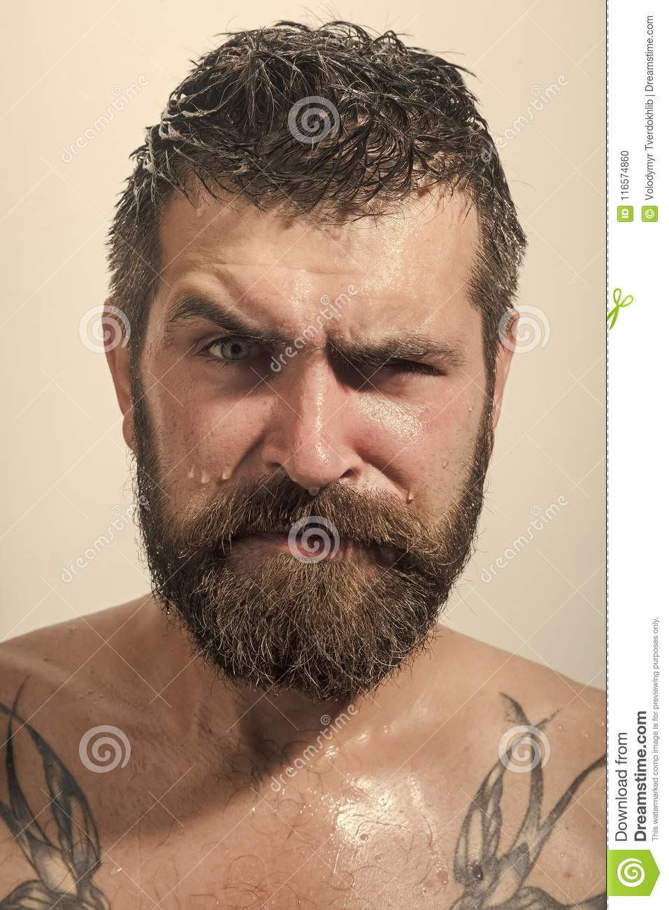 Serious face guy naked pic 773