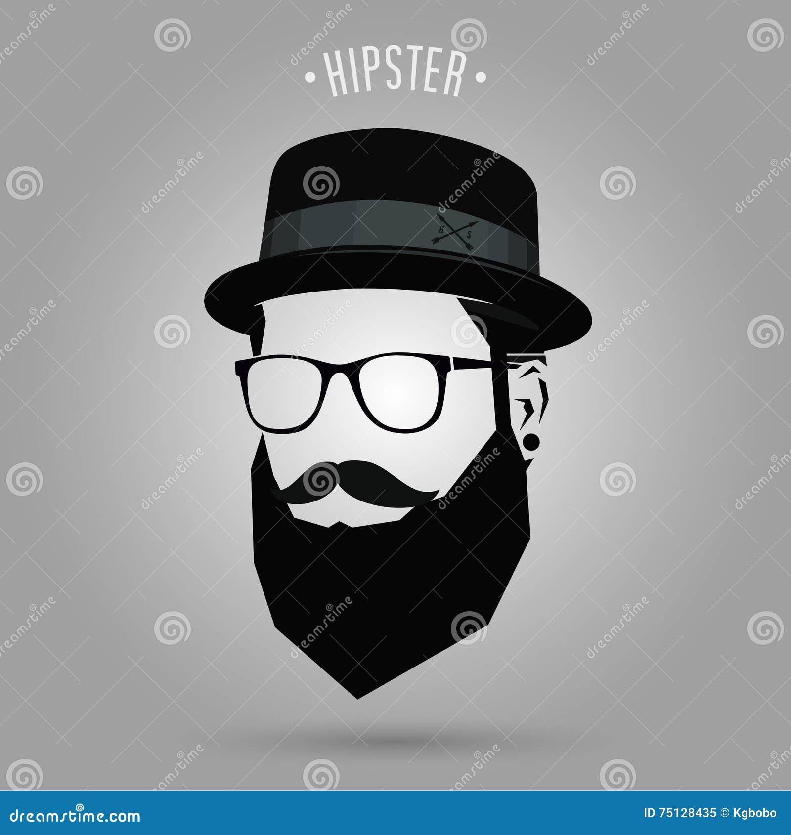 Hipster sign hat