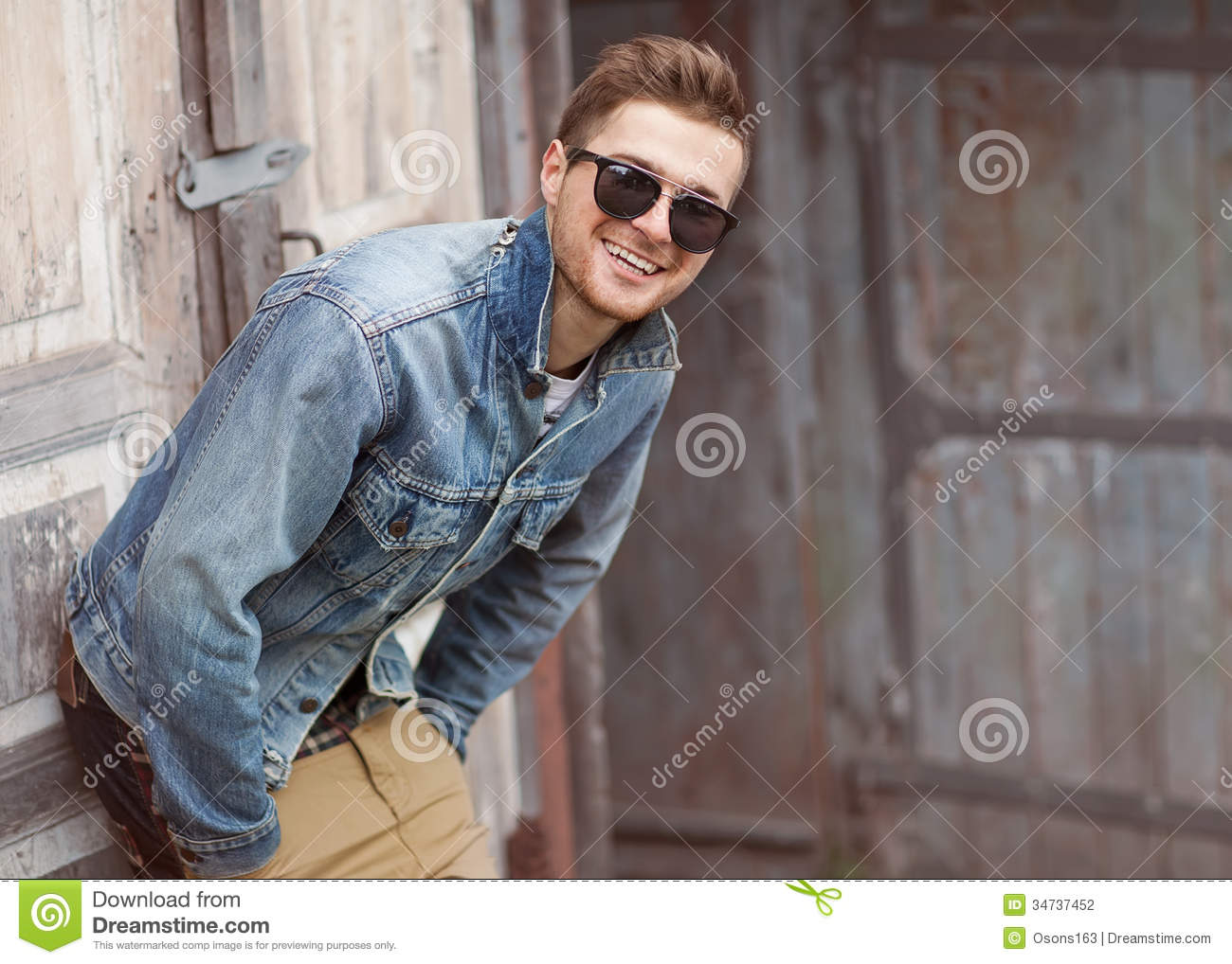 Hipster style guy stock photo. Image of hands, nice, male ...