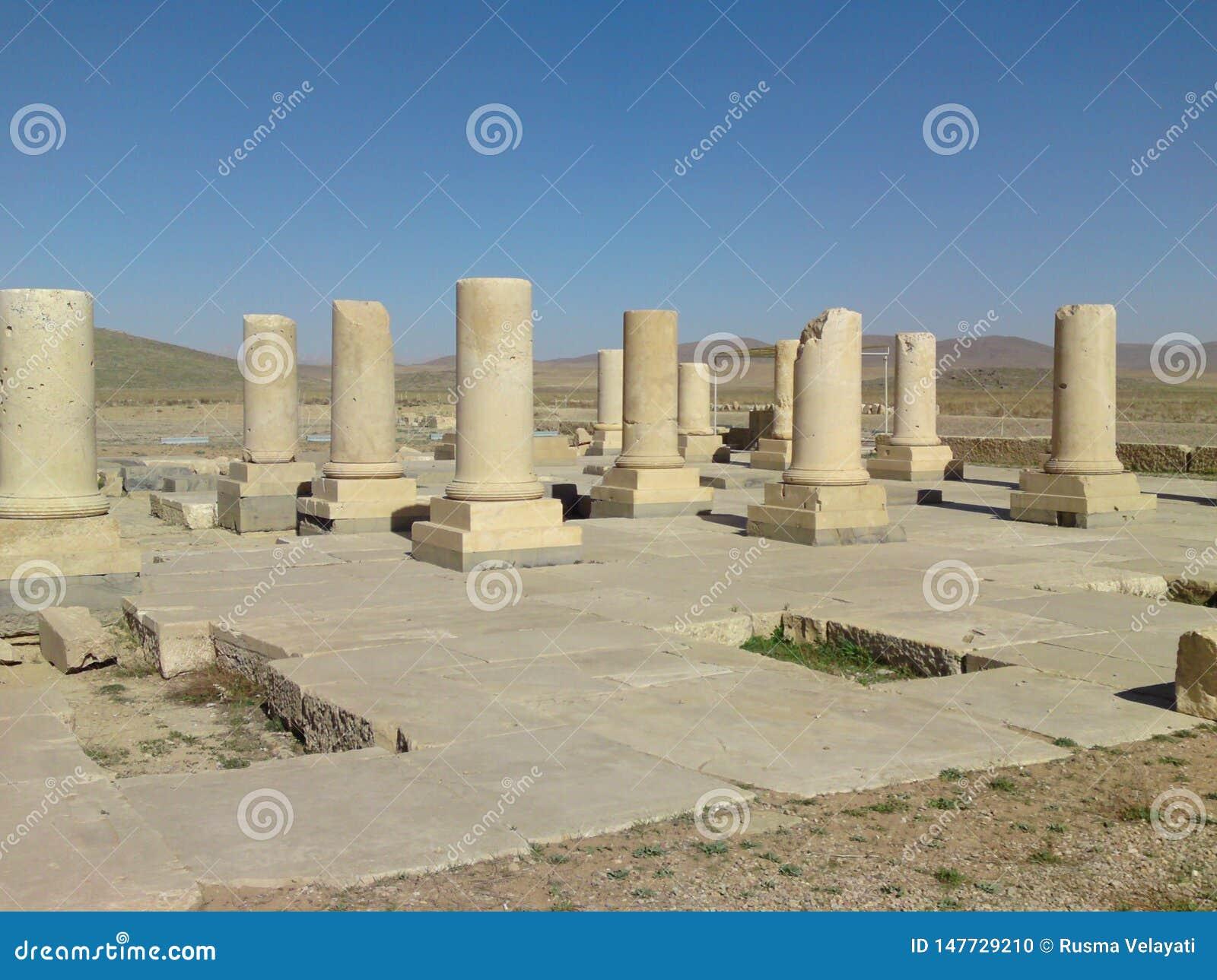 Hiraz, PERSEPOLIS, IR?N, arruina de la capital ceremonial del imperio de Achaemenid persa del imperio