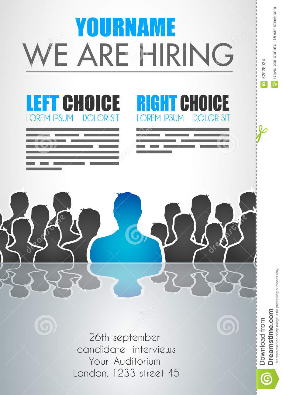 we are hiring background for your hiring posters and flyer