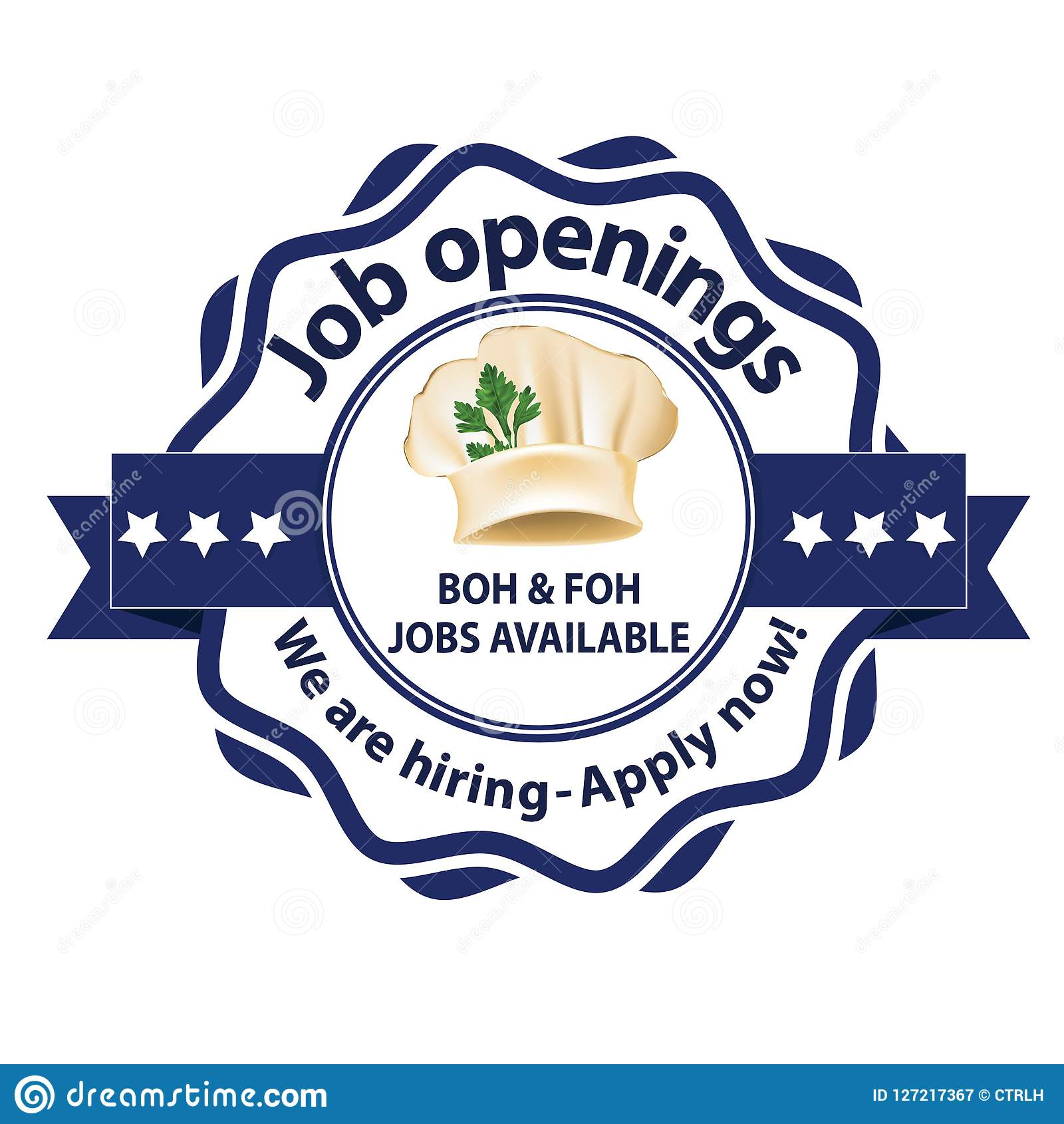 7f3d1206d2d6 We Are Hiring BOH And FOH Jobs Available For Immediate Start