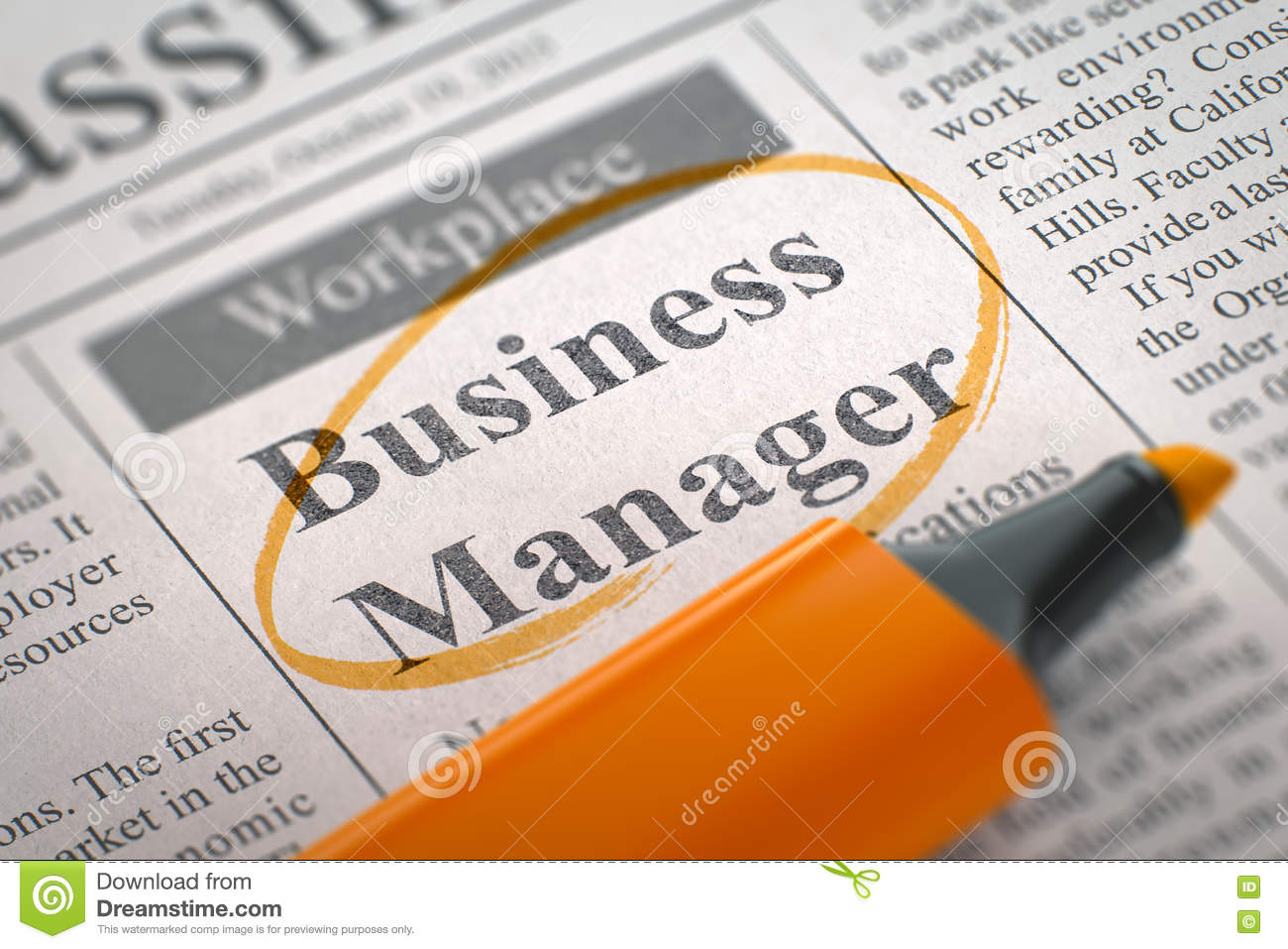 Image result for hiring Business Manager
