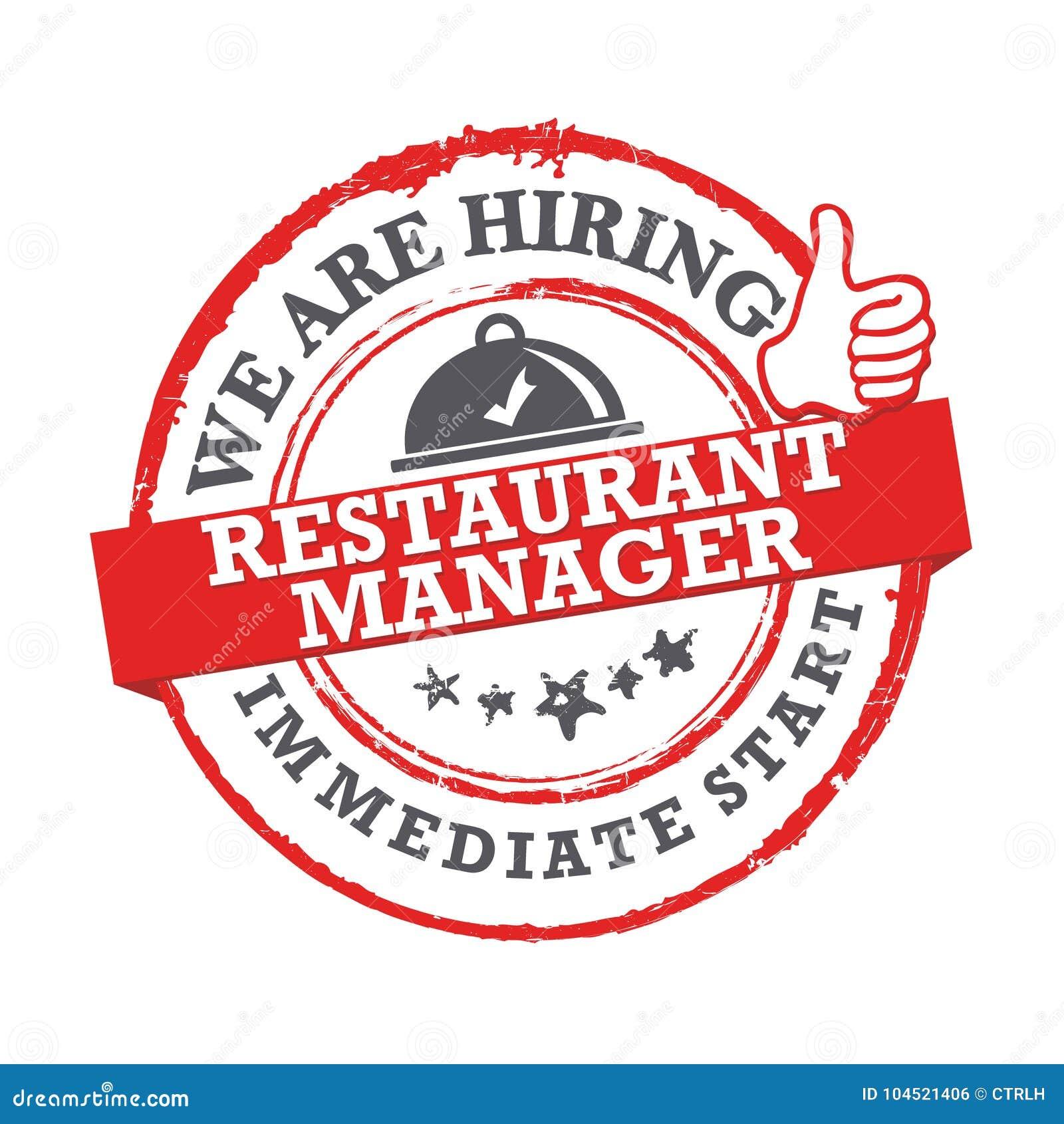 Image result for hiring Restaurant Manager