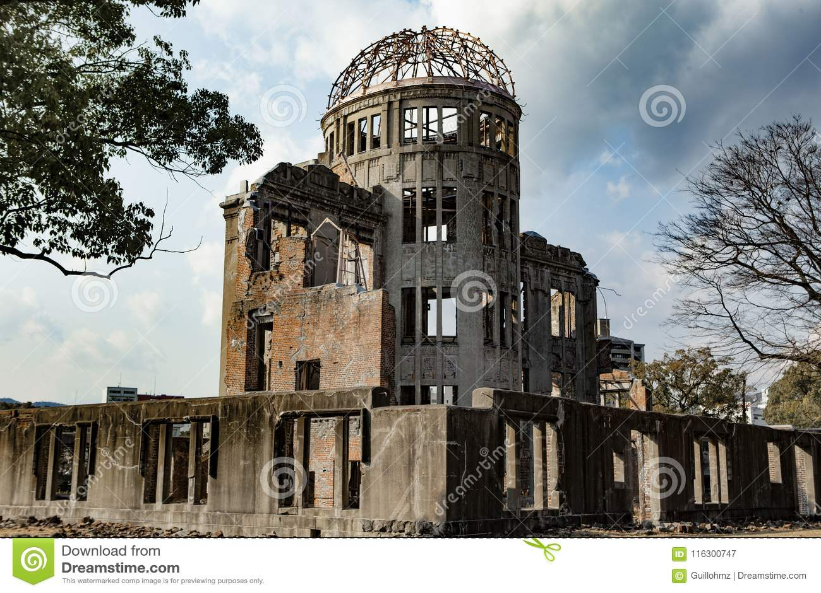 Hiroshima fredminnesmärke - Genbaku kupol