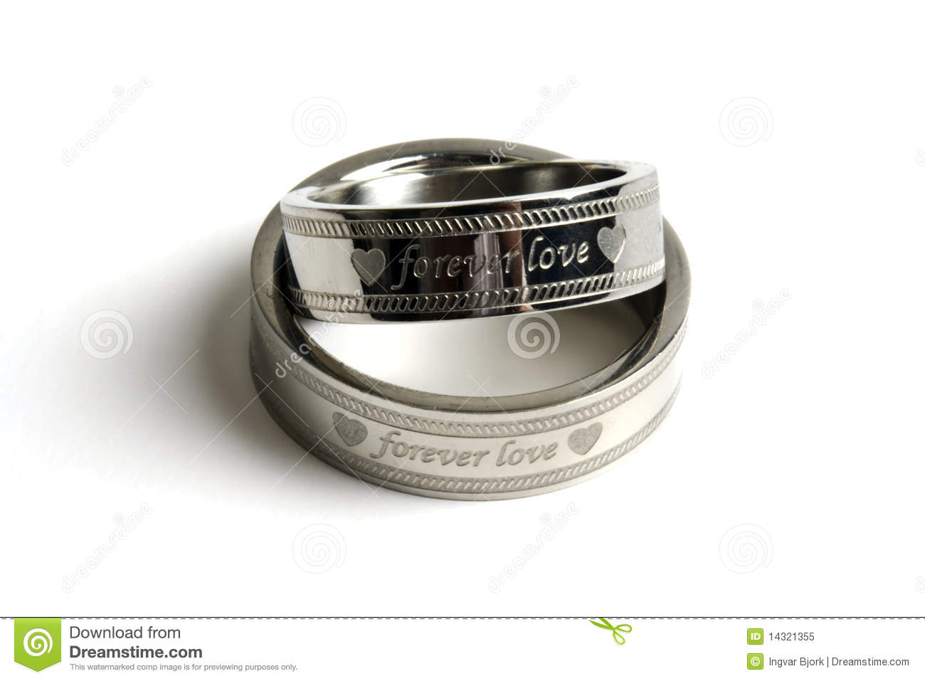 More similar stock images of ` His and hers wedding rings `