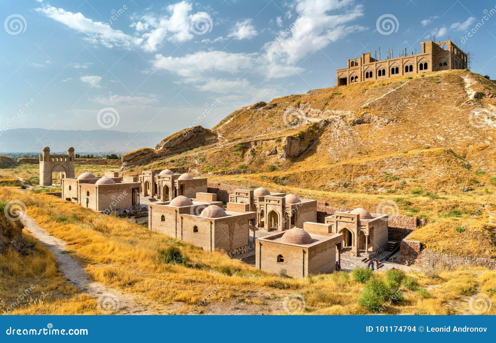 Hisor-Festung auf Tadschikistan